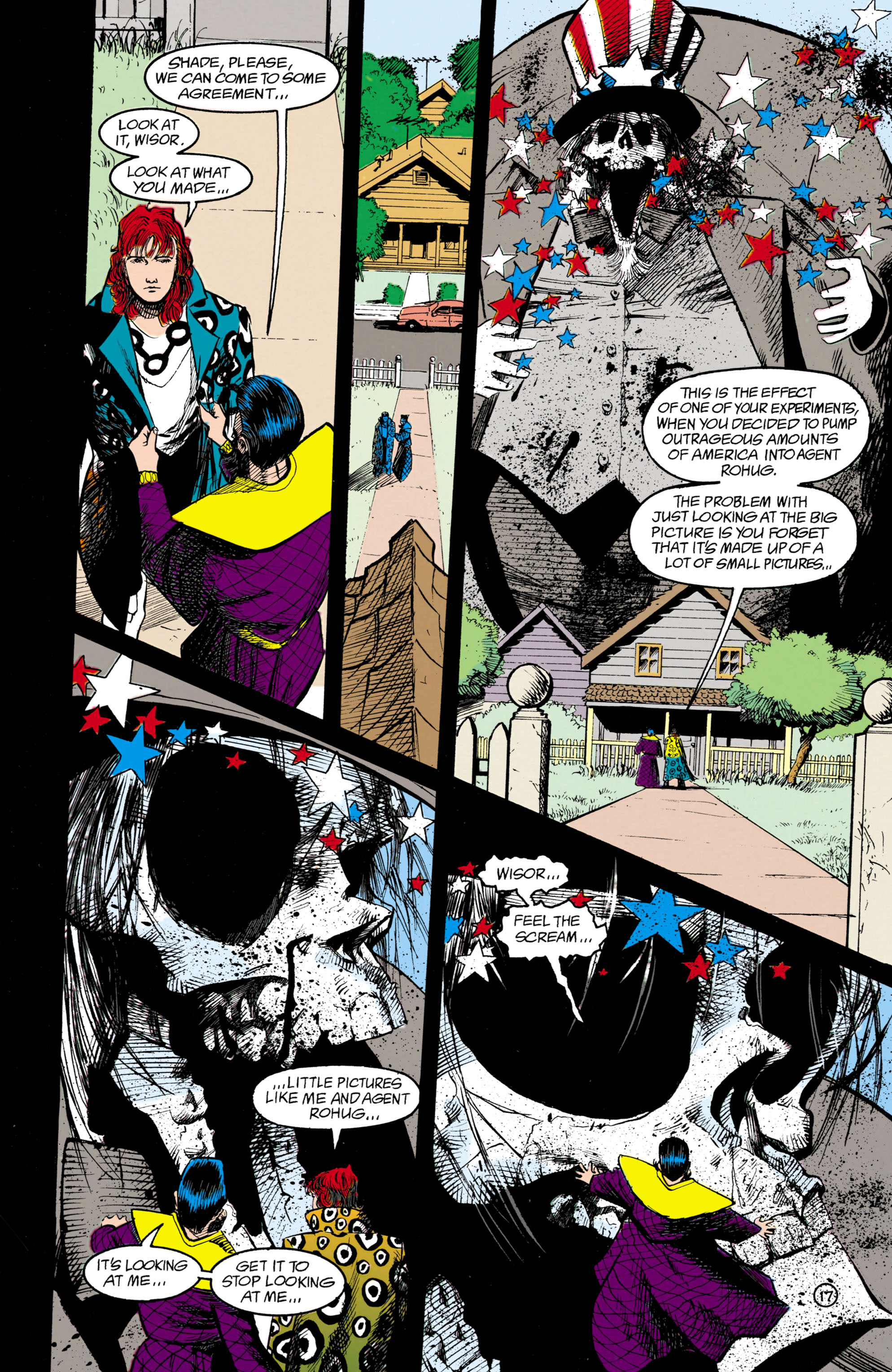 Read online Shade, the Changing Man comic -  Issue #18 - 17