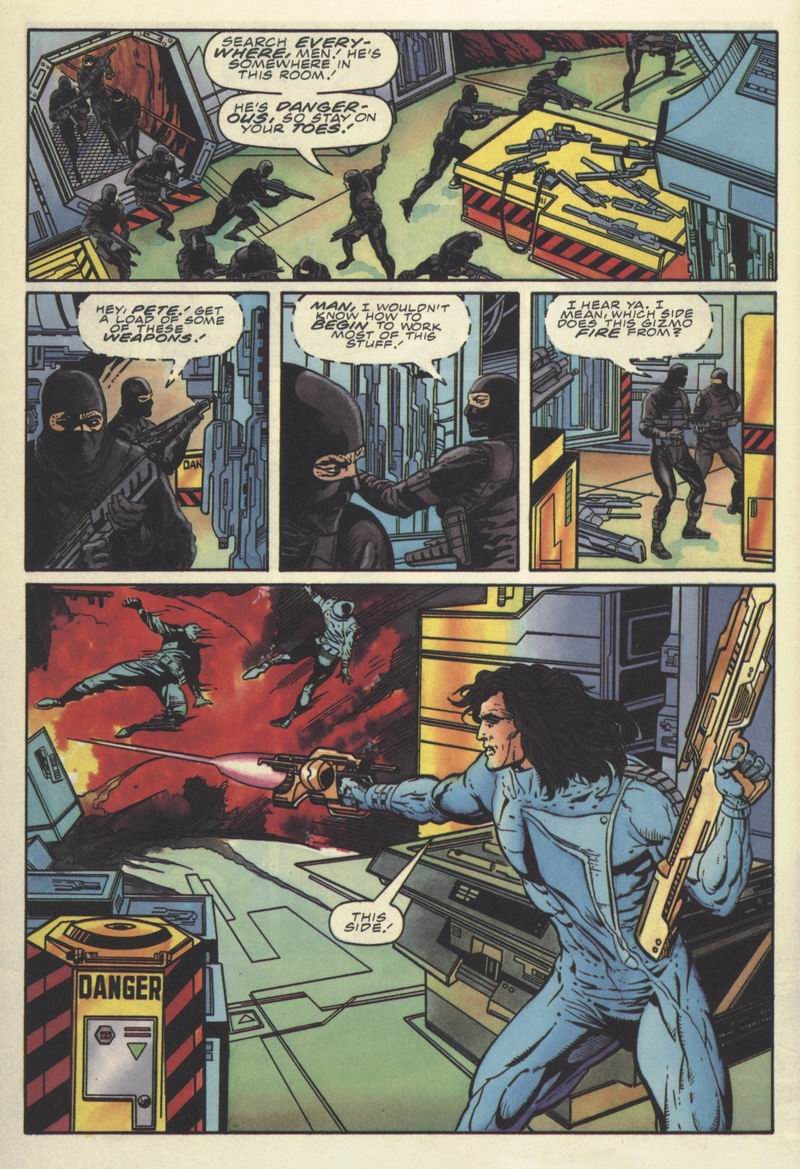 Read online Secret Weapons comic -  Issue #10 - 10