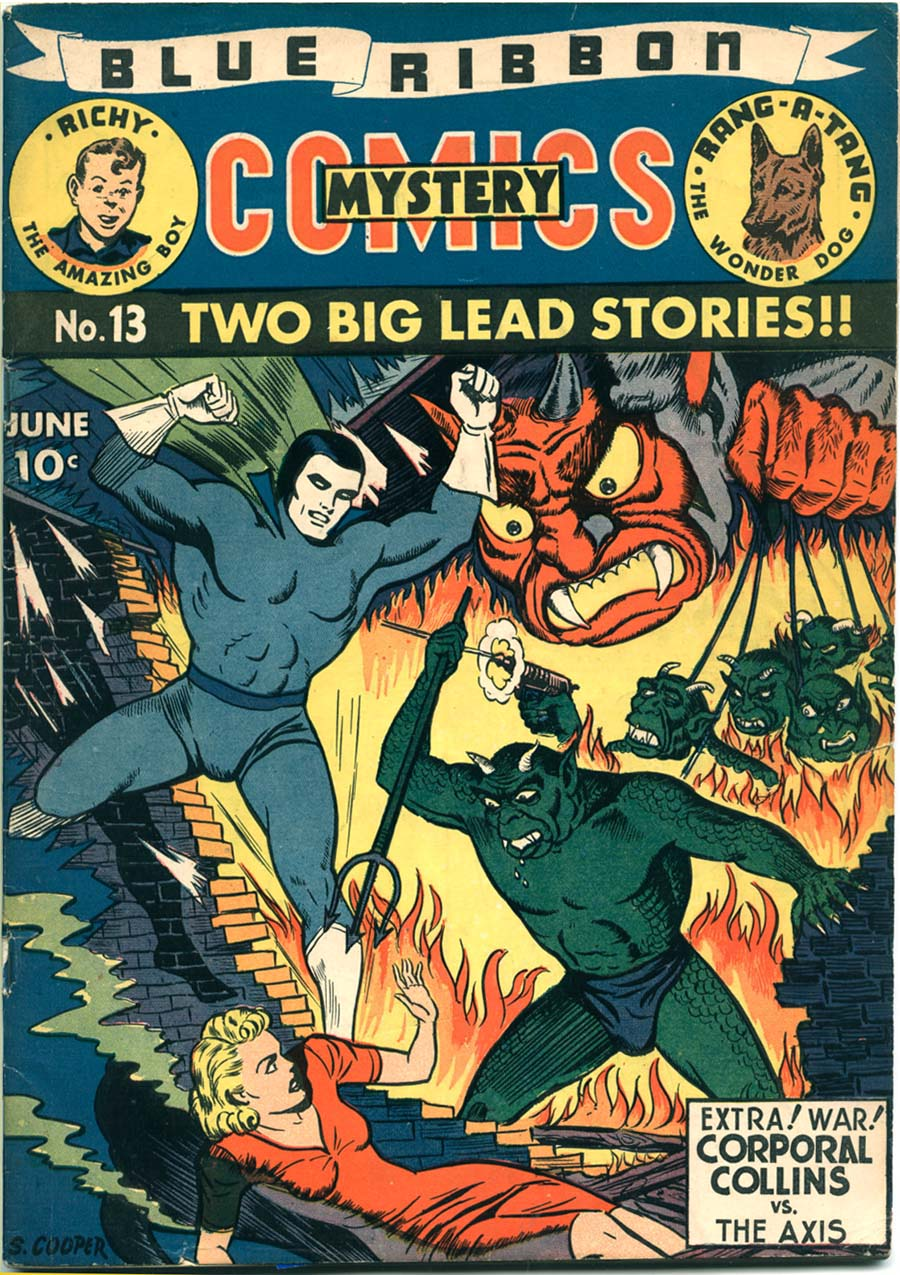 Blue Ribbon Comics (1939) issue 13 - Page 1