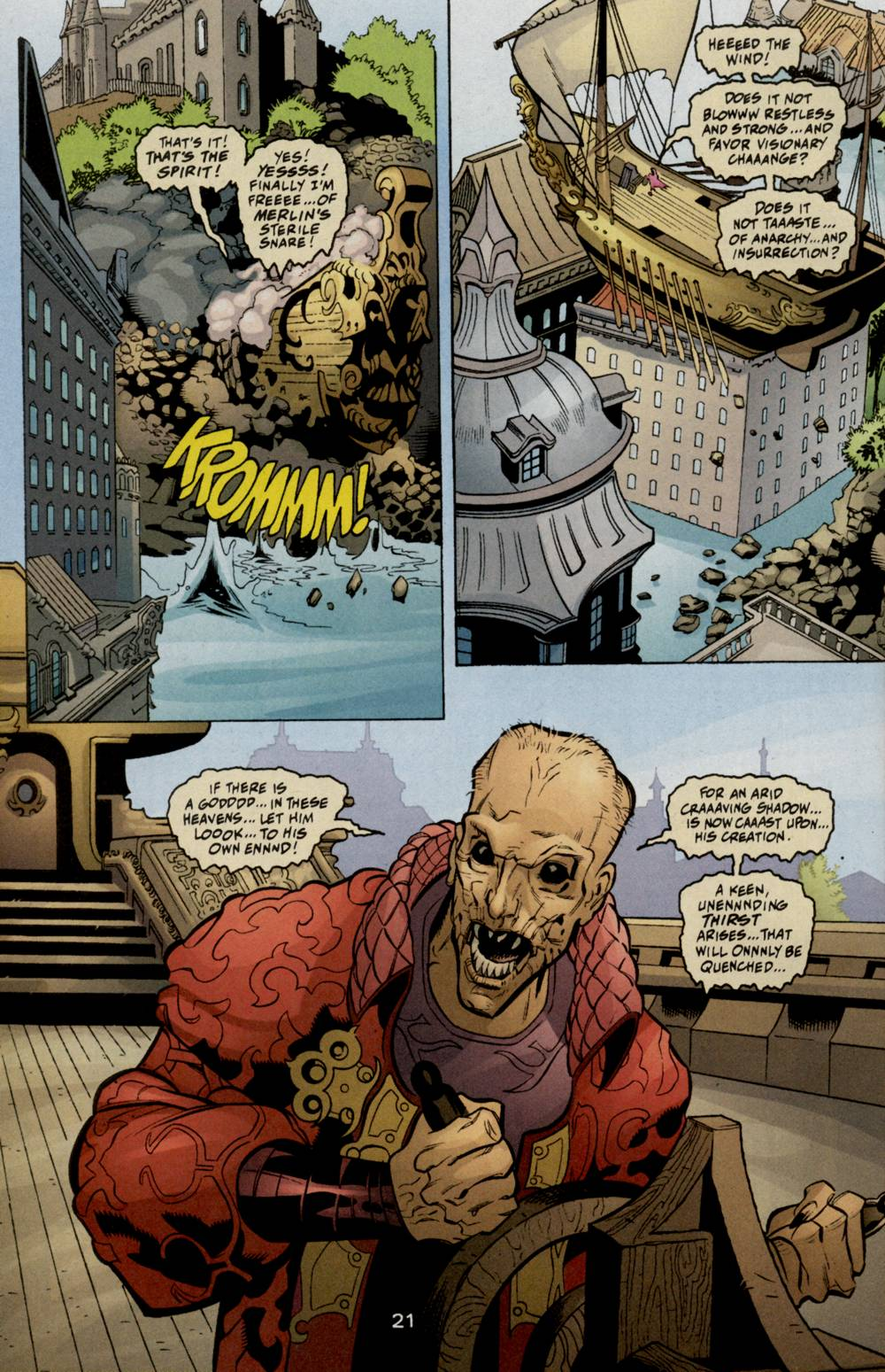 Read online Aquaman (2003) comic -  Issue #5 - 23