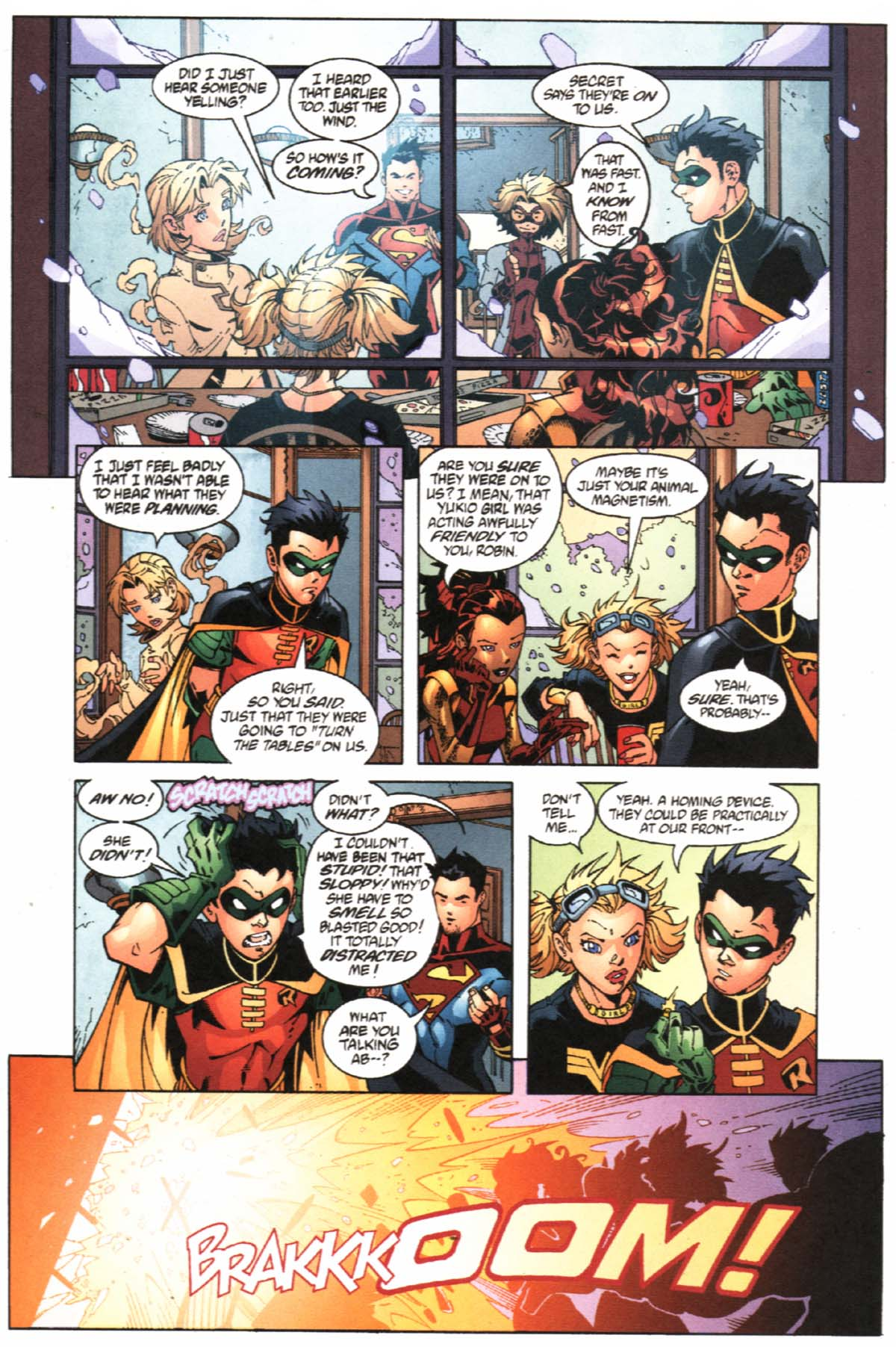 Read online SpyBoy/Young Justice comic -  Issue #1 - 23