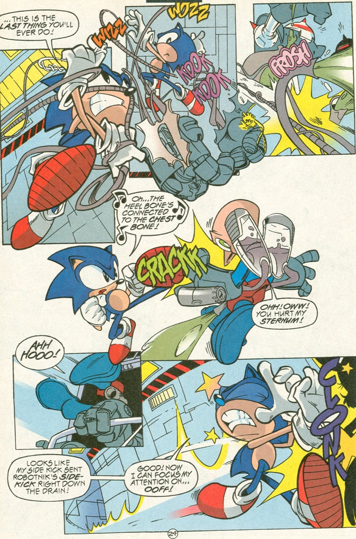 Read online Sonic Super Special comic -  Issue #6 - The big 50 - 25