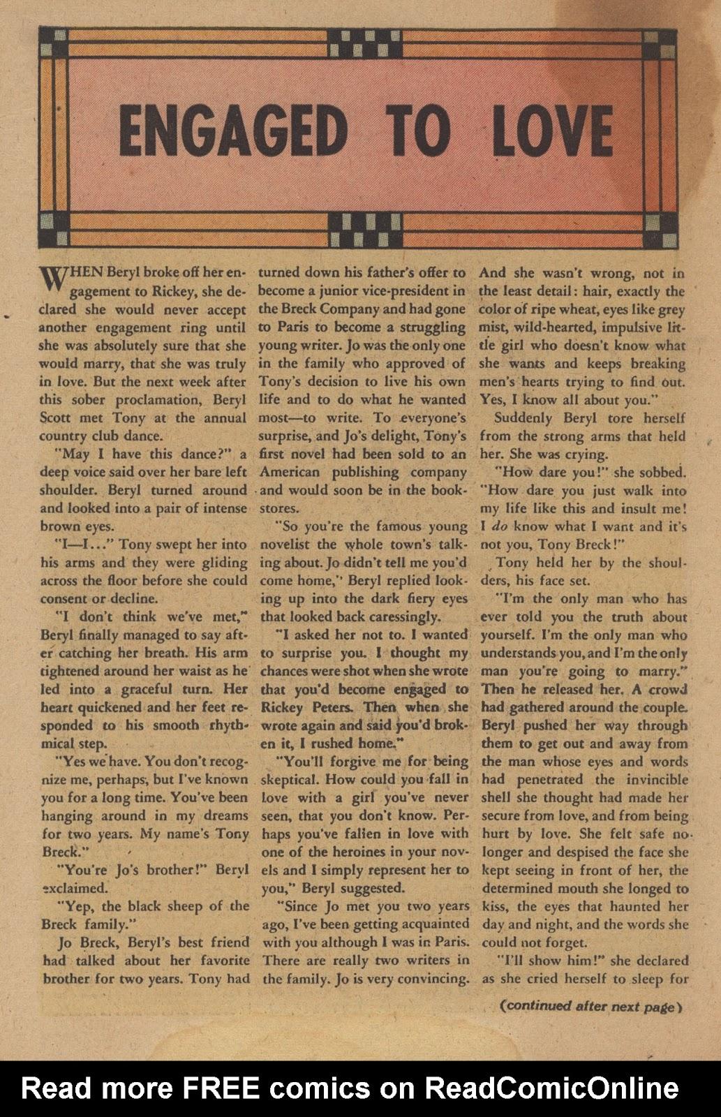 Love Romances (1949) issue 28 - Page 18