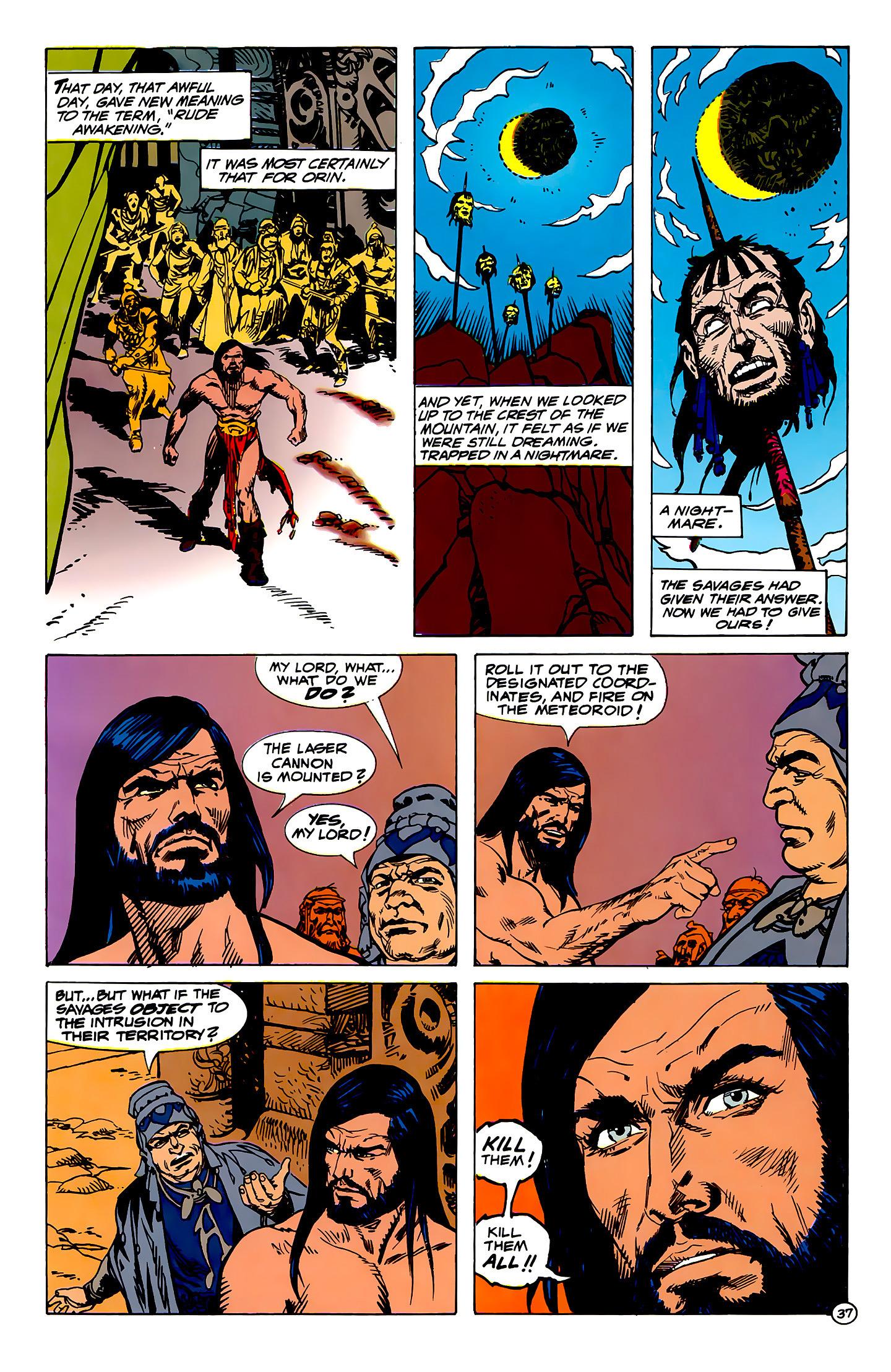 Read online Atlantis Chronicles comic -  Issue #1 - 37