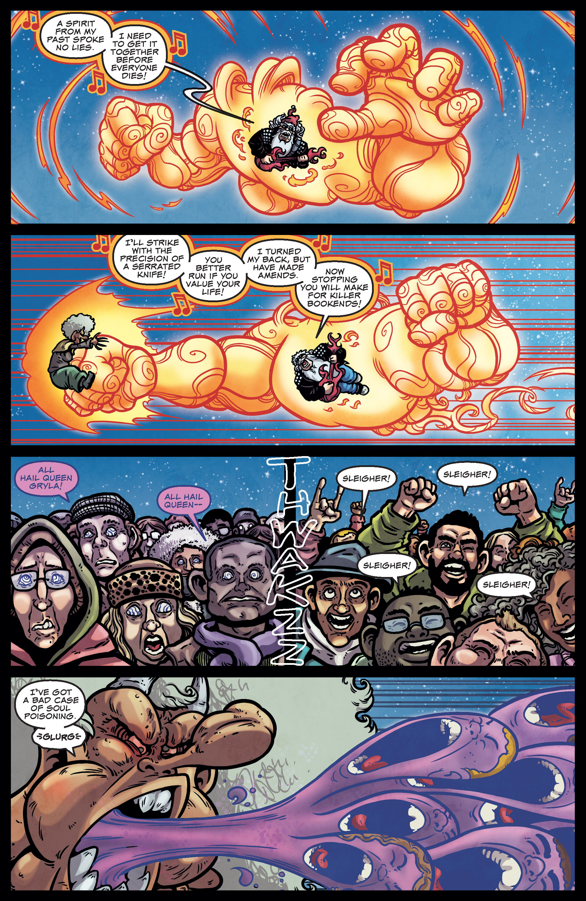 Read online Sleigher comic -  Issue #4 - 19