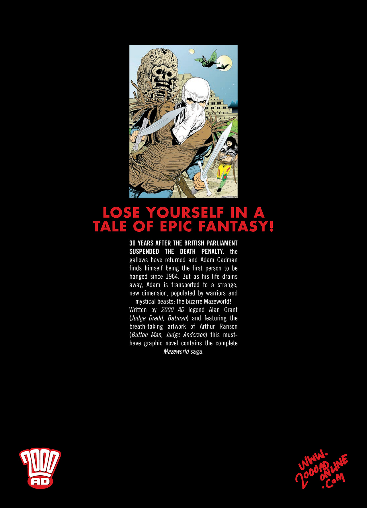 Read online Mazeworld comic -  Issue # TPB - 192