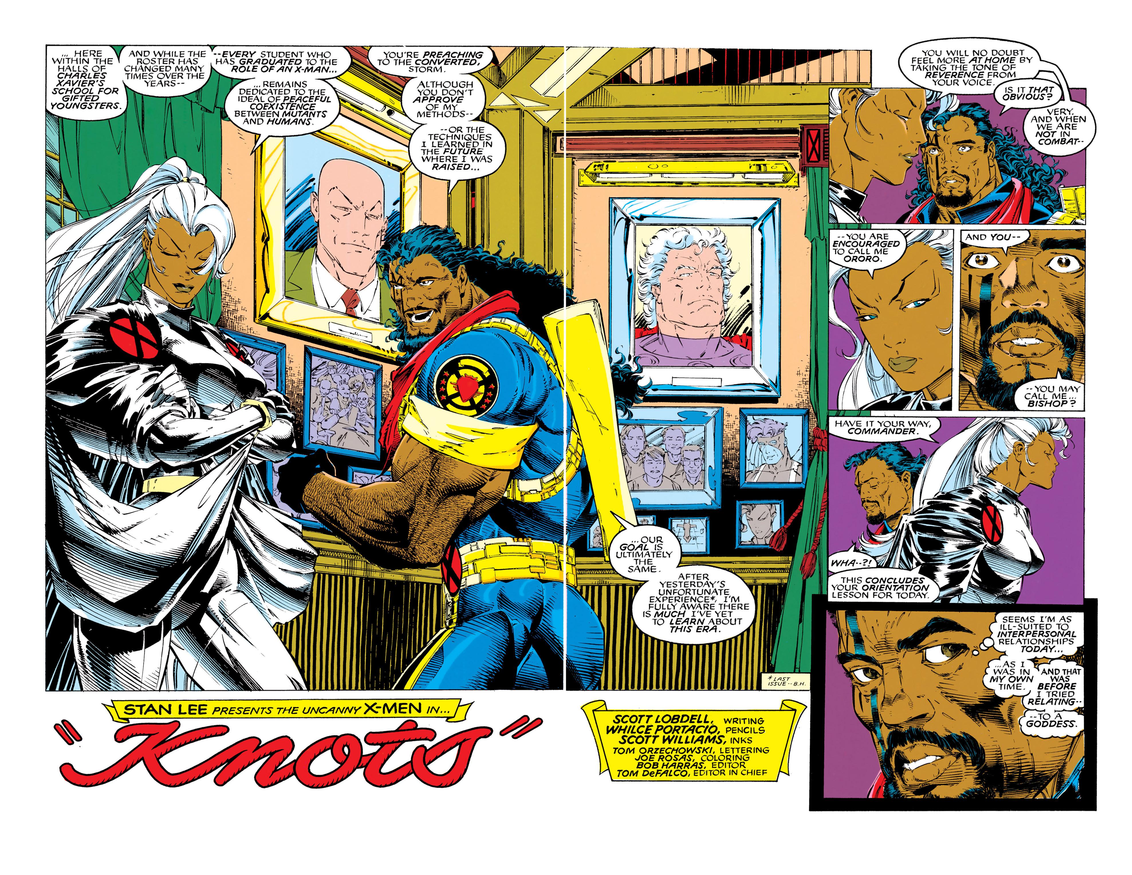 Read online Uncanny X-Men (1963) comic -  Issue #289 - 3