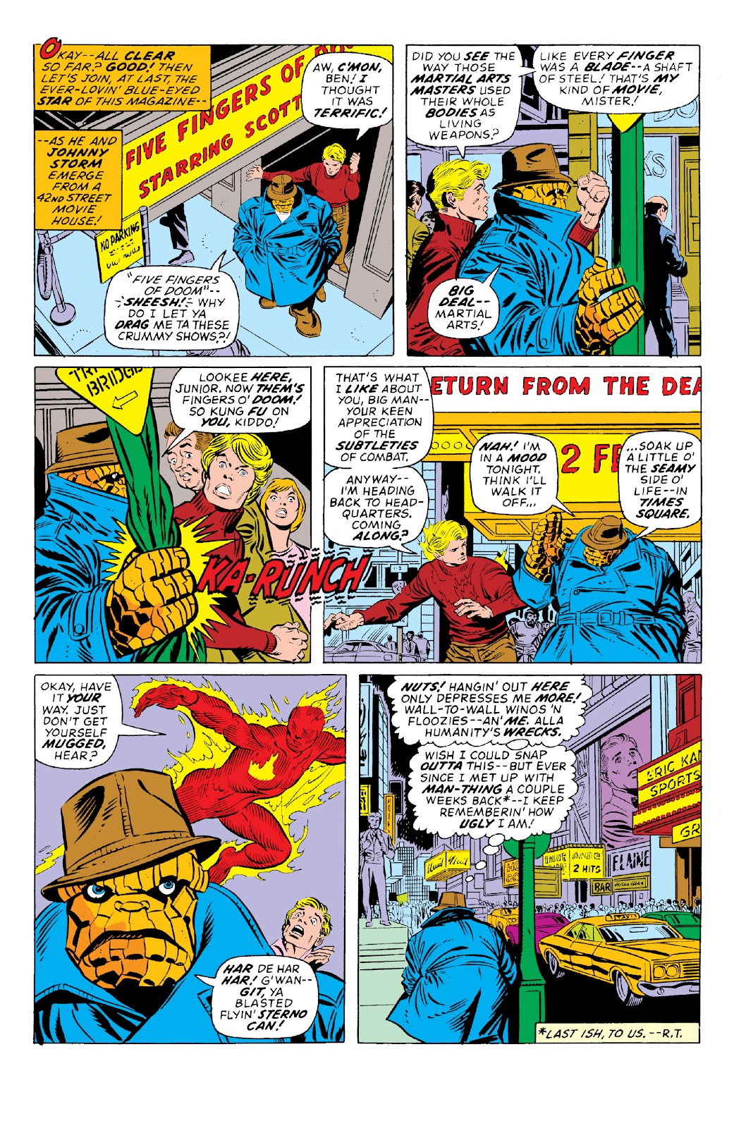 Read online Marvel Two-In-One Epic Collection: Cry Monster comic -  Issue # TPB (Part 1) - 72