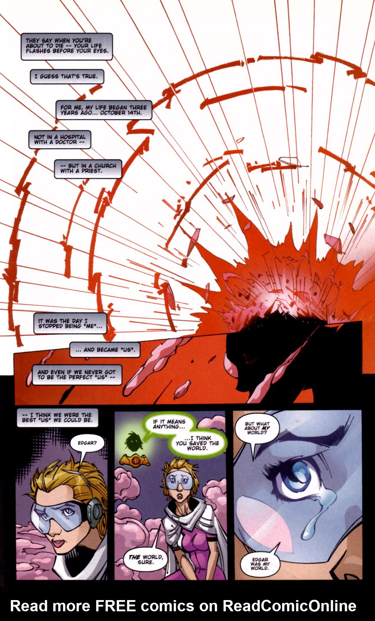 Read online Ball and Chain comic -  Issue #4 - 21