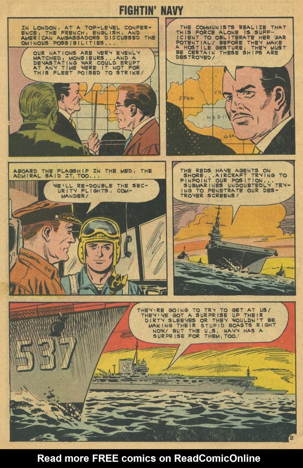 Read online Fightin' Navy comic -  Issue #103 - 26