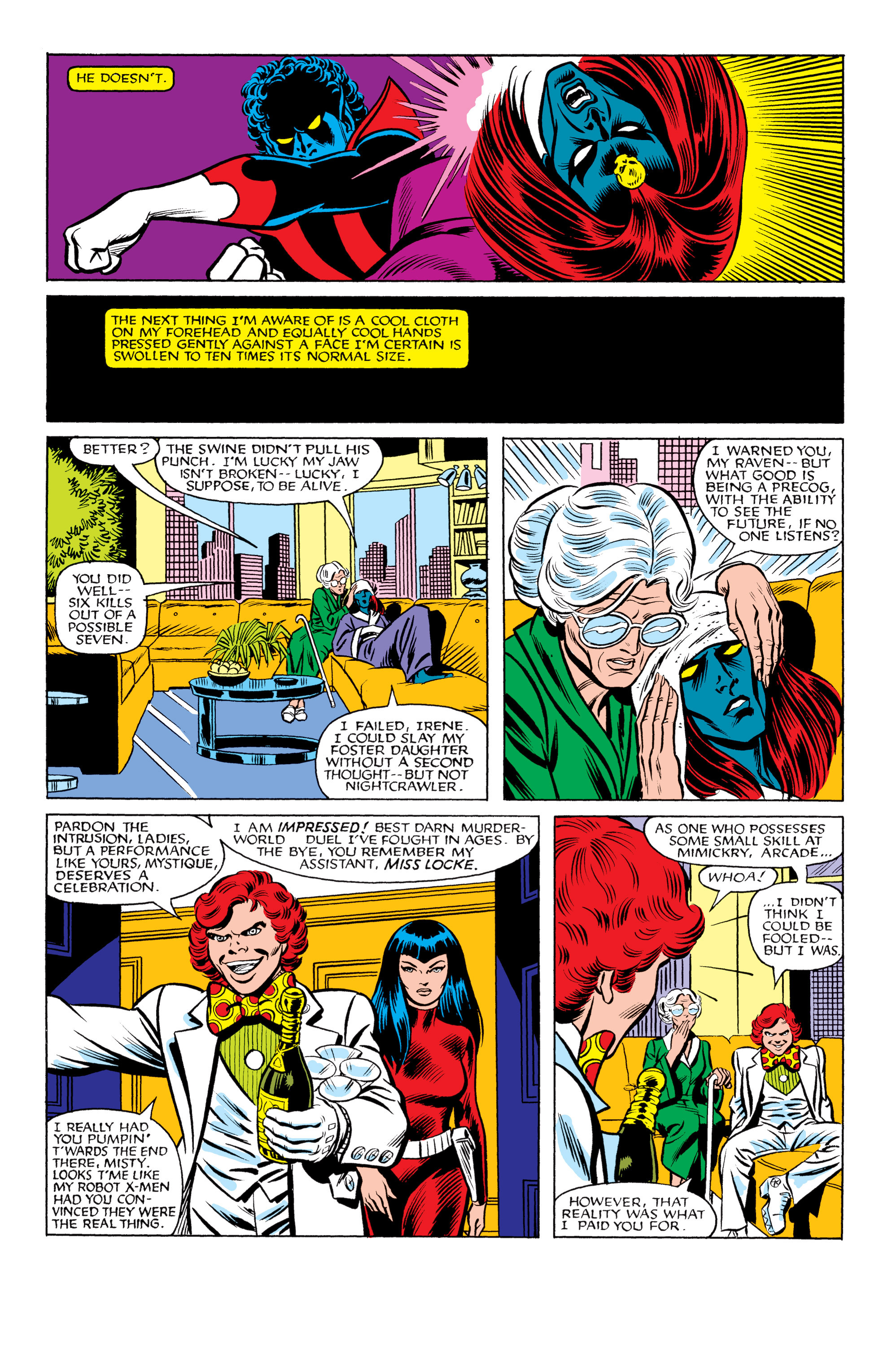Read online Uncanny X-Men (1963) comic -  Issue #177 - 11