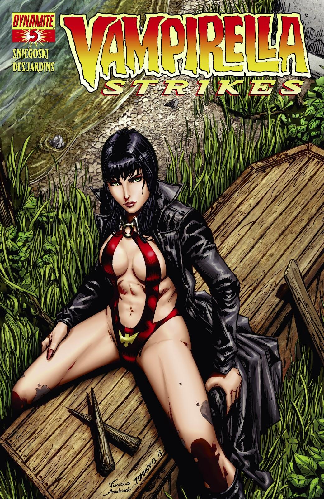 Read online Vampirella Strikes comic -  Issue #5 - 1