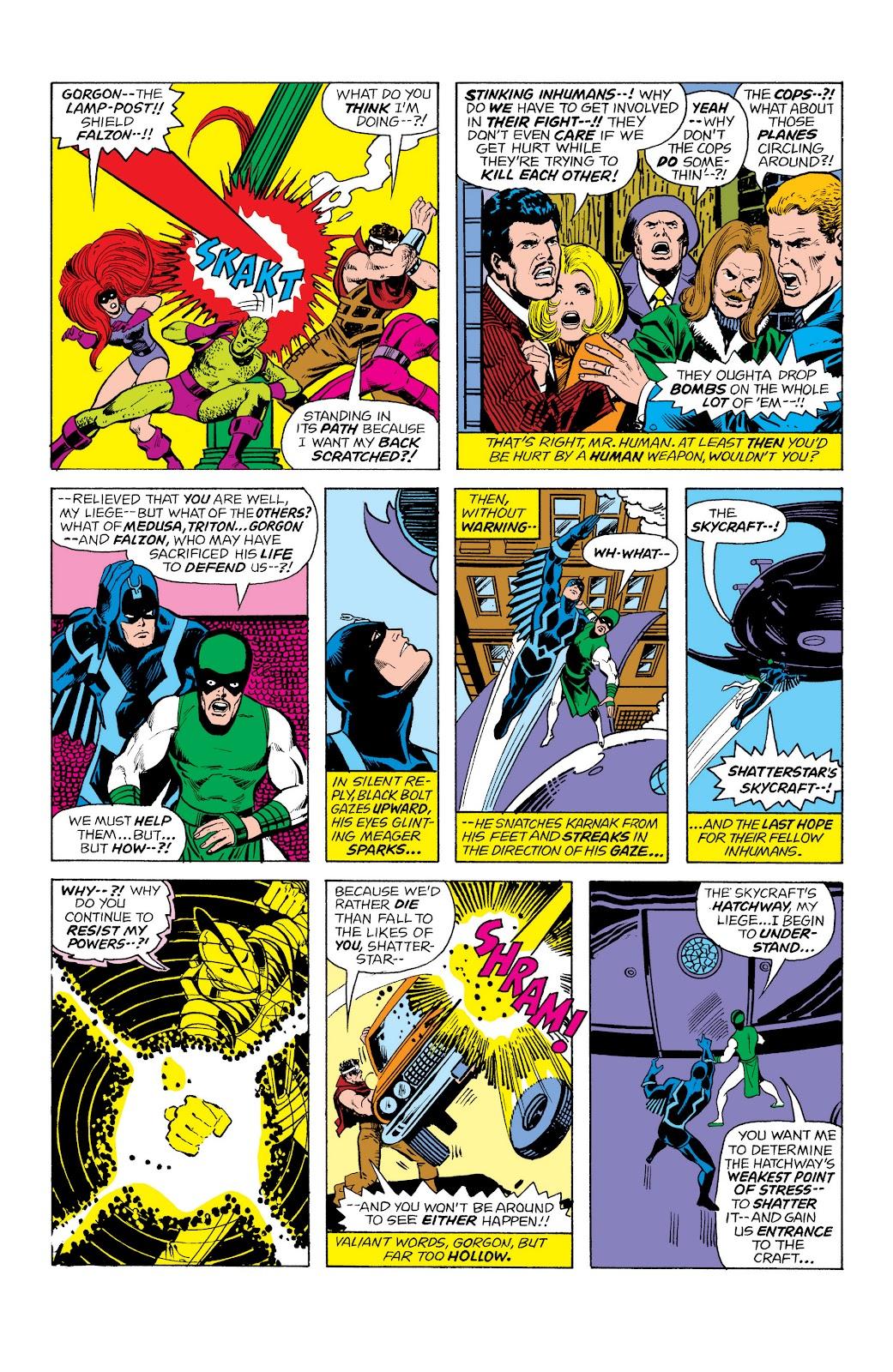 Read online Marvel Masterworks: The Inhumans comic -  Issue # TPB 2 (Part 1) - 71