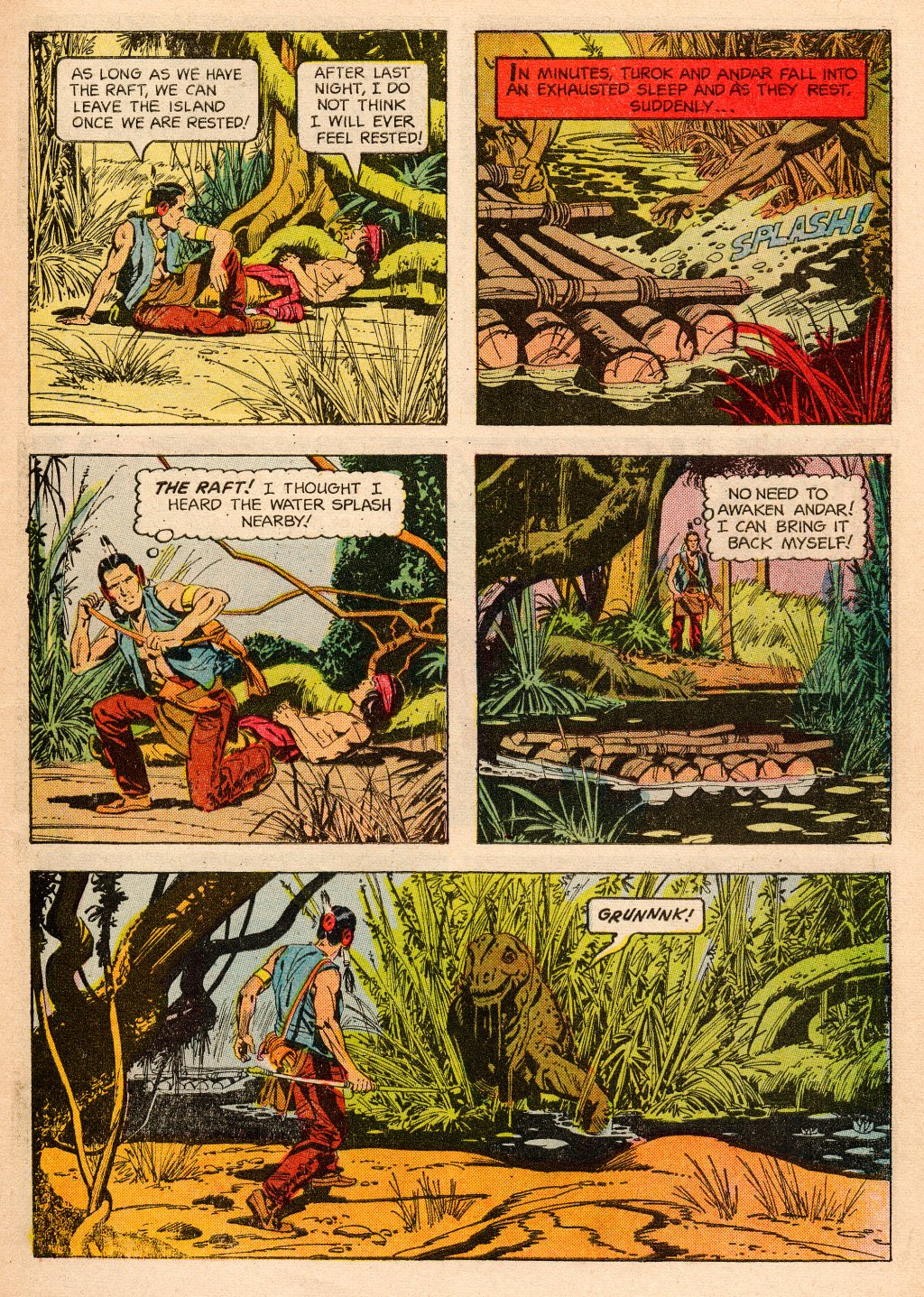 Read online Turok, Son of Stone comic -  Issue #33 - 7
