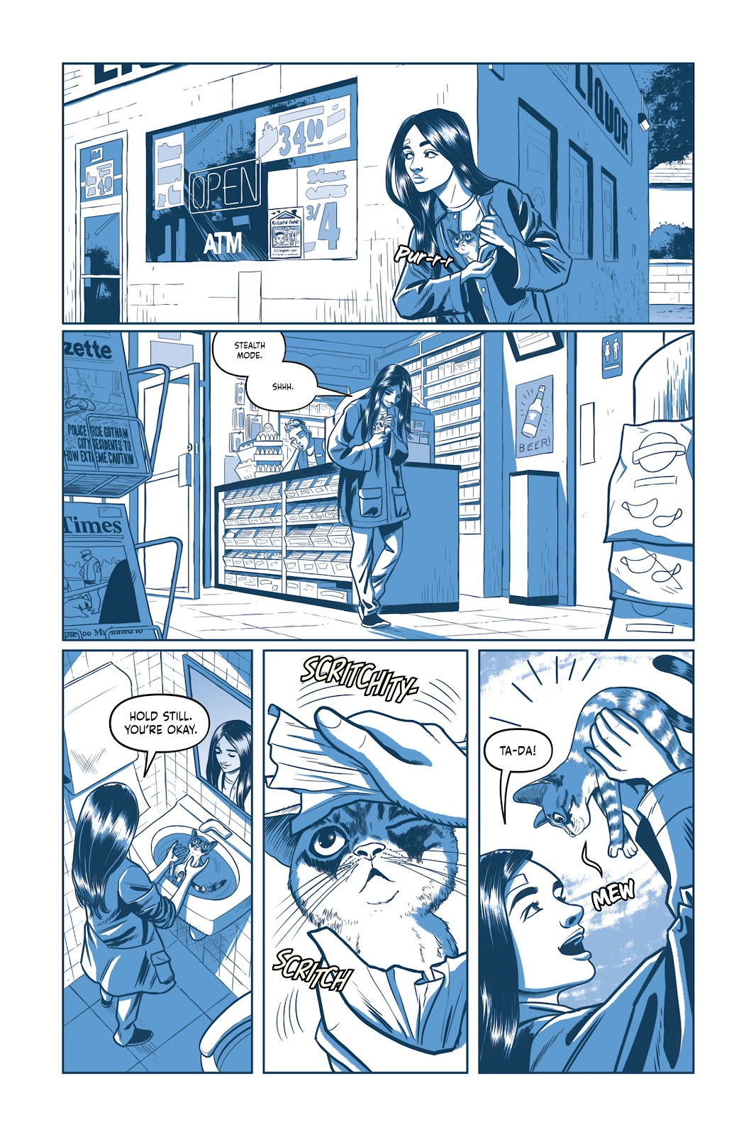Read online Under the Moon: A Catwoman Tale comic -  Issue # TPB (Part 1) - 48
