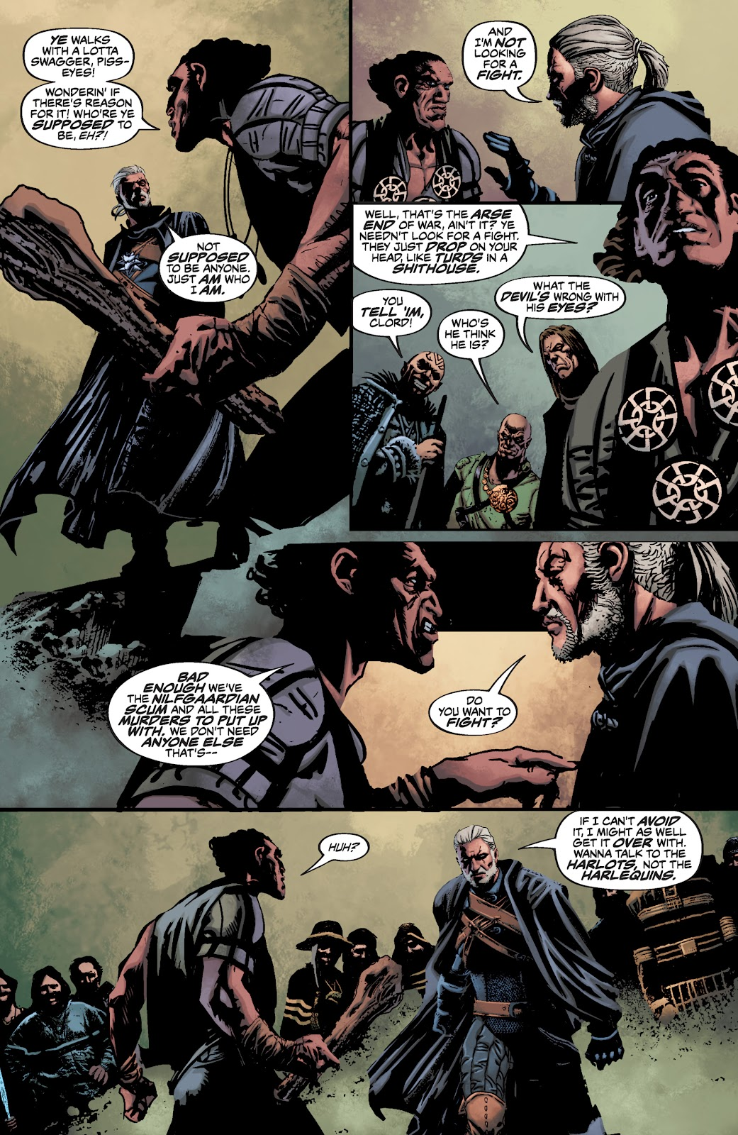 Read online The Witcher Omnibus comic -  Issue # TPB (Part 3) - 55