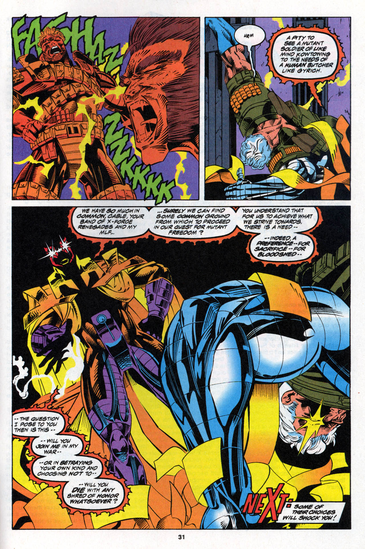 Read online X-Force (1991) comic -  Issue #27 - 31