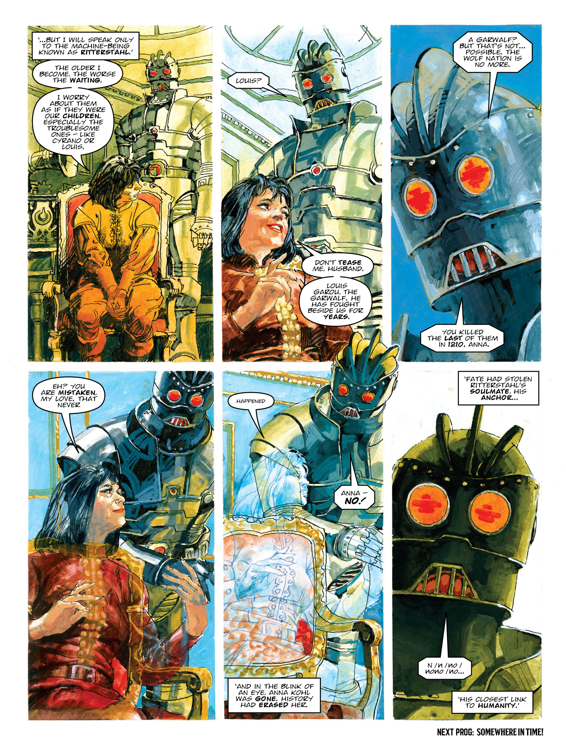 Read online 2000 AD comic -  Issue #2012 - 24