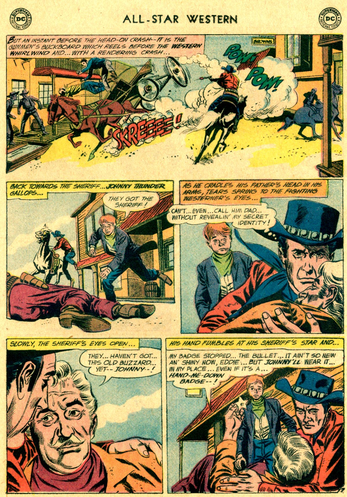 Read online All-Star Western (1951) comic -  Issue #112 - 9