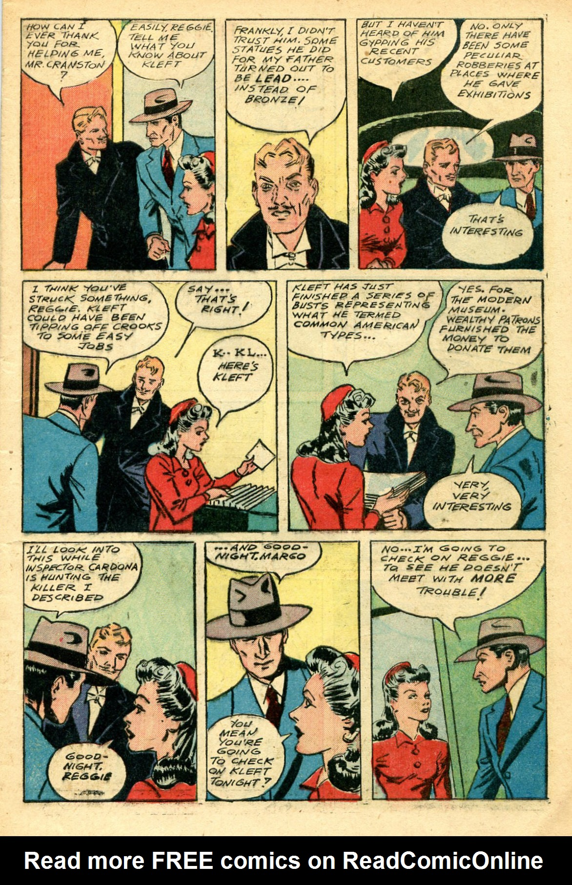 Read online Shadow Comics comic -  Issue #44 - 8