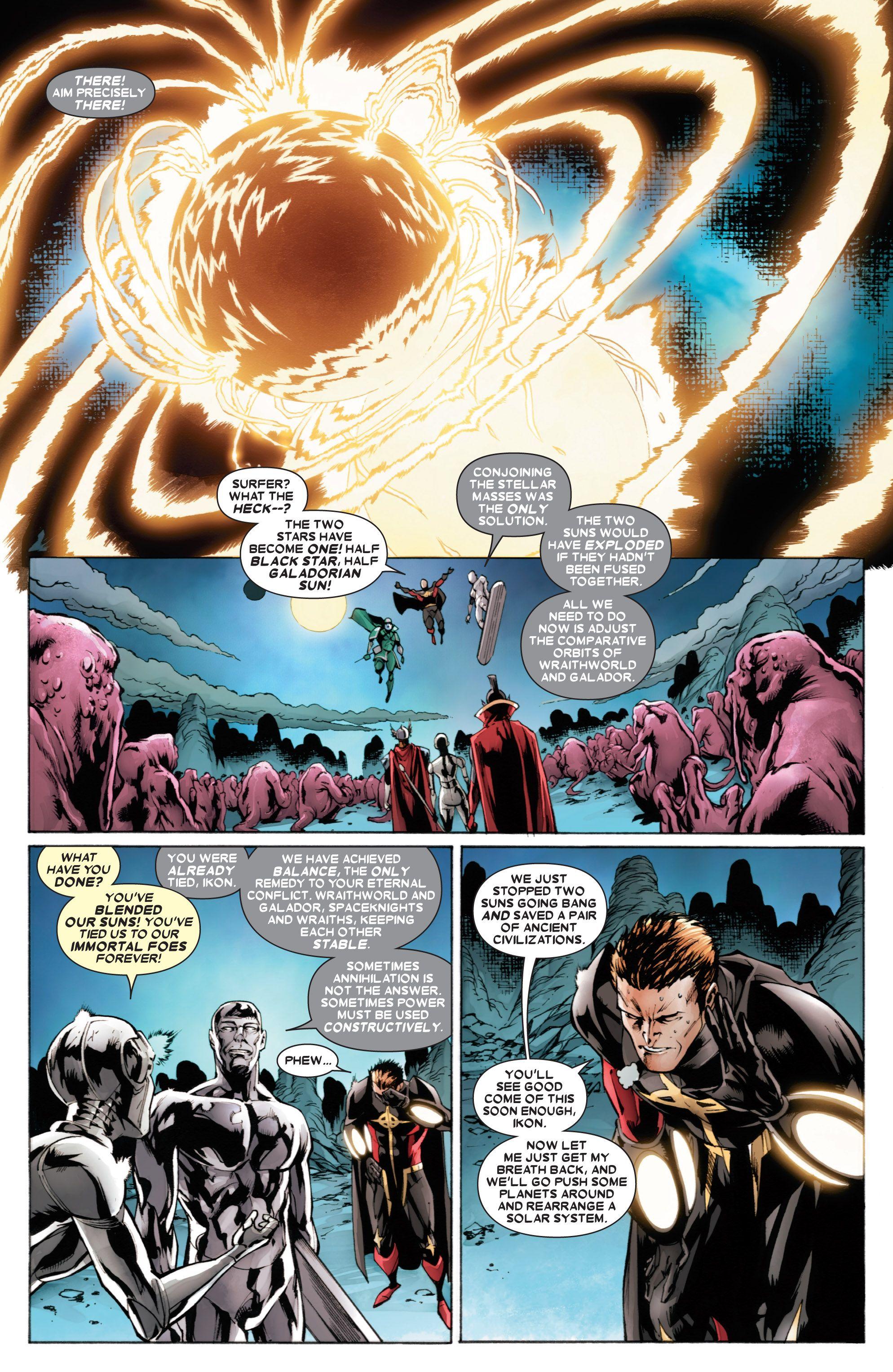 Read online Annihilators comic -  Issue #4 - 18