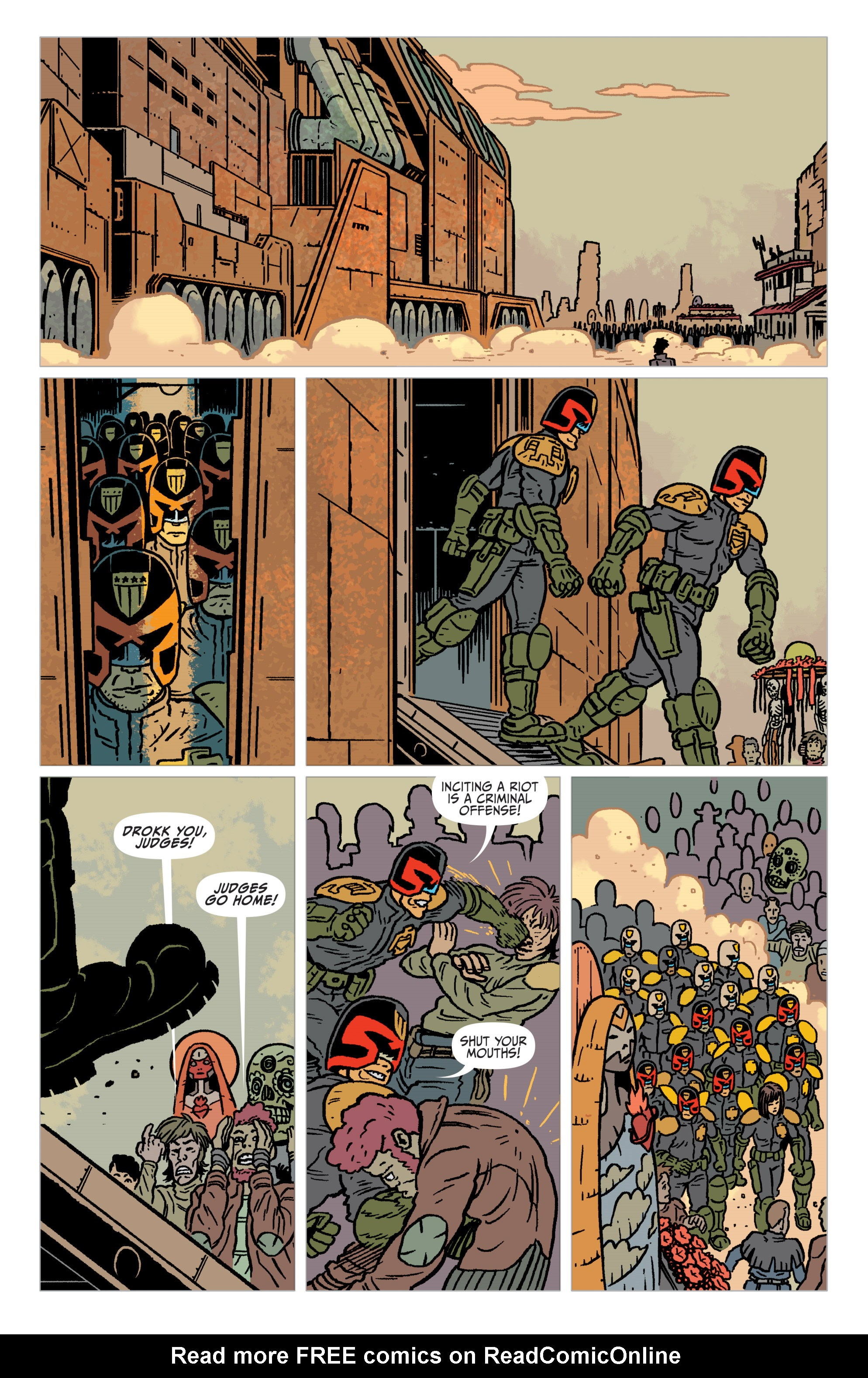 Read online Judge Dredd: The Blessed Earth comic -  Issue #2 - 15