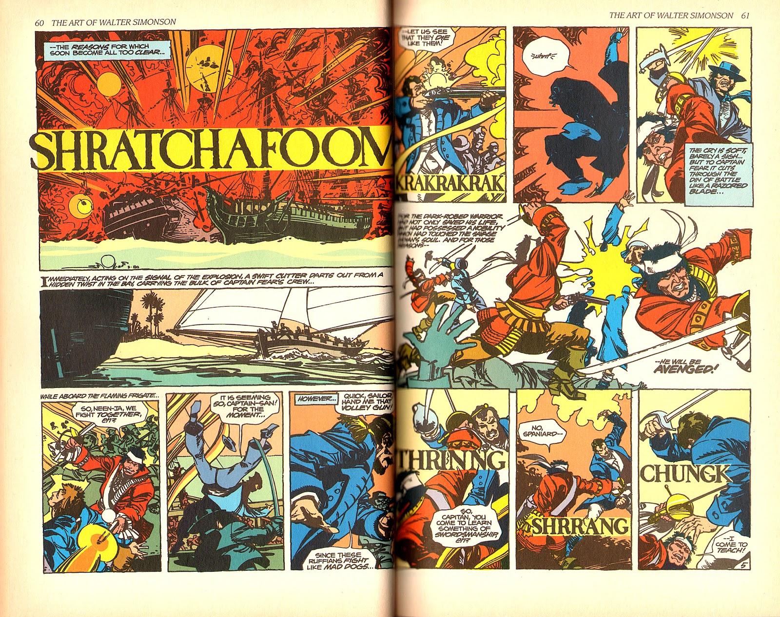 Read online The Art of Walter Simonson comic -  Issue # TPB - 32