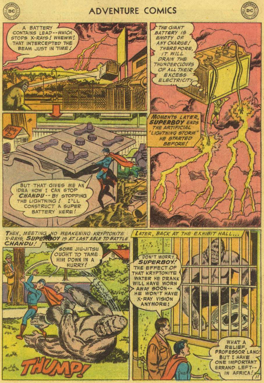 Read online Adventure Comics (1938) comic -  Issue #219 - 13