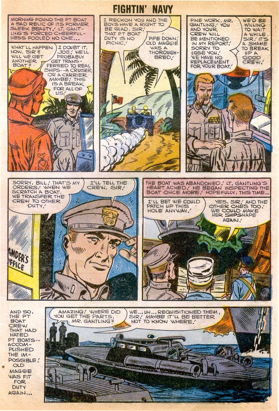 Read online Fightin' Navy comic -  Issue #79 - 9