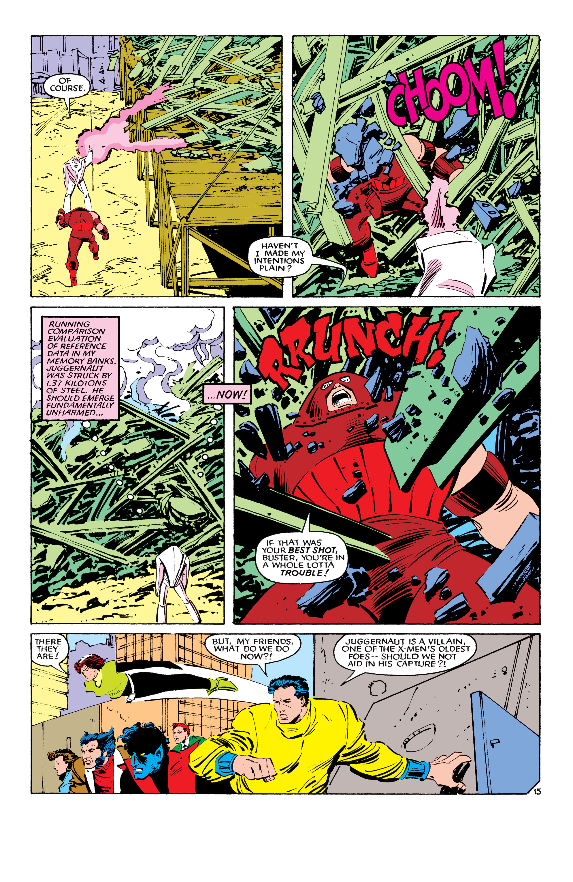 Read online Uncanny X-Men (1963) comic -  Issue #194 - 16