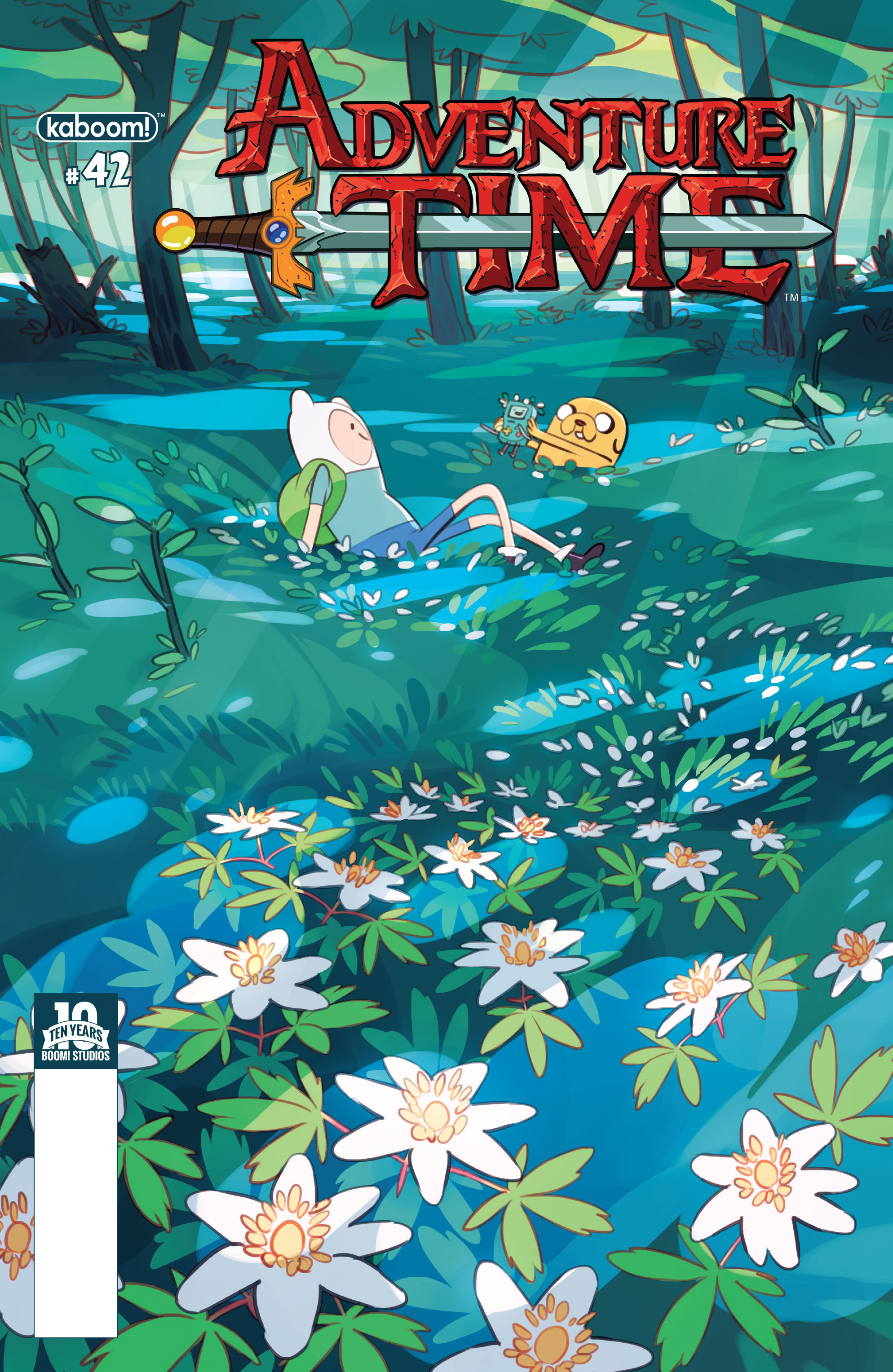 Read online Adventure Time comic -  Issue #42 - 1