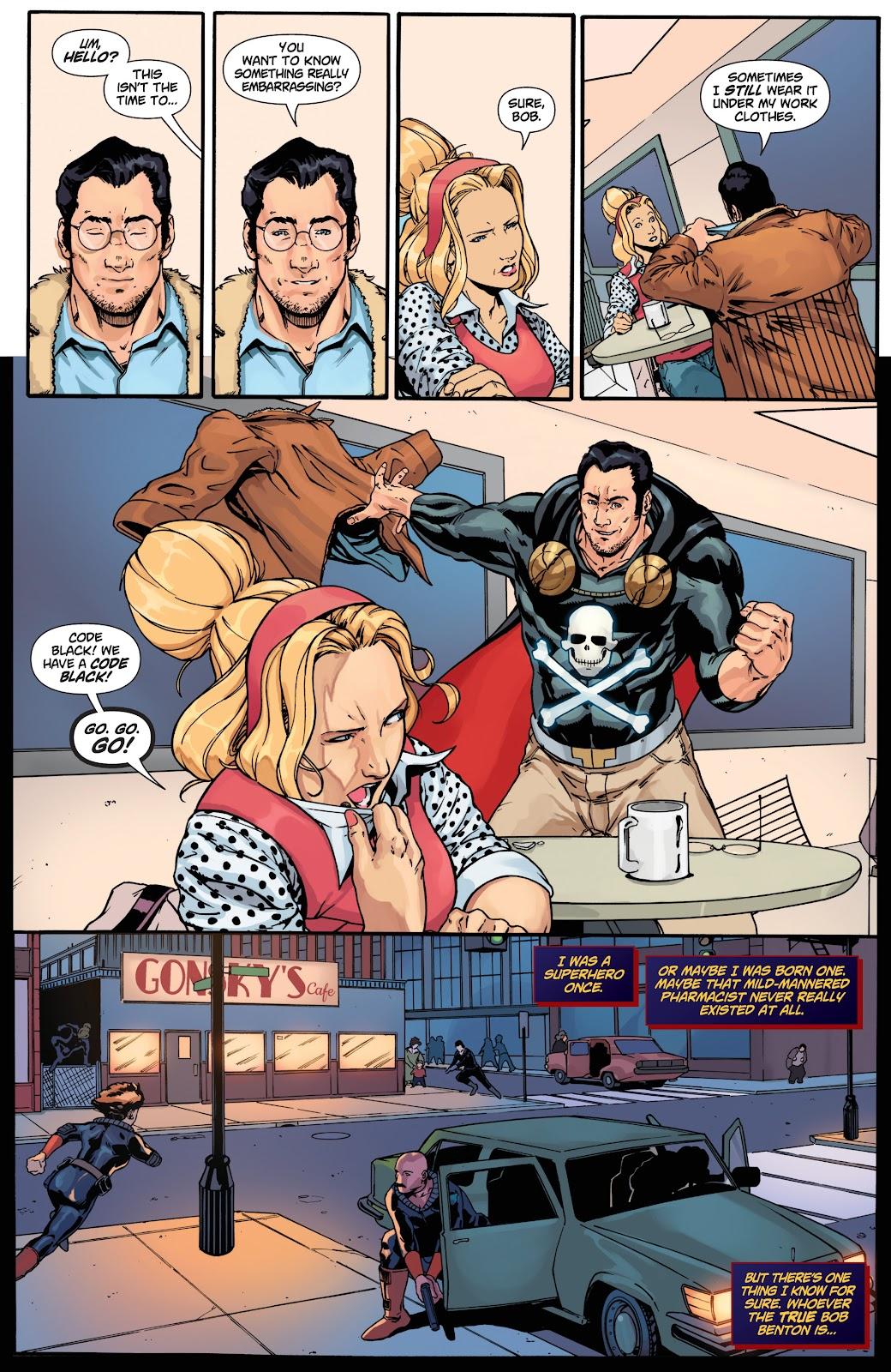Read online Black Terror (2019) comic -  Issue # Full - 25
