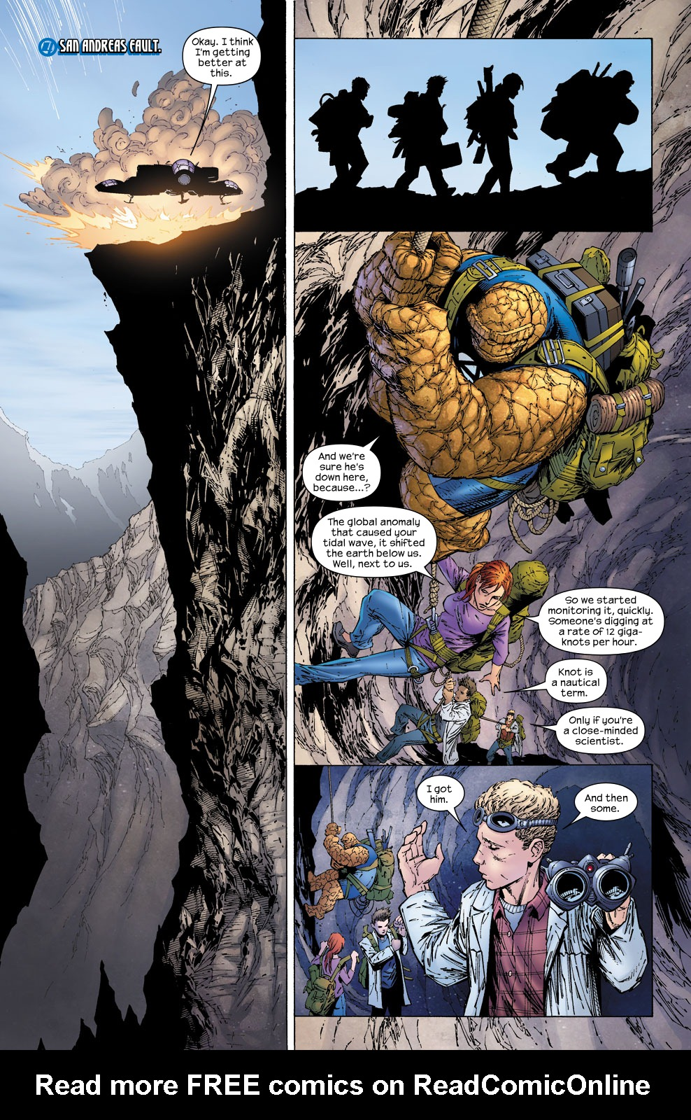 Read online Ultimate Fantastic Four (2004) comic -  Issue #58 - 12