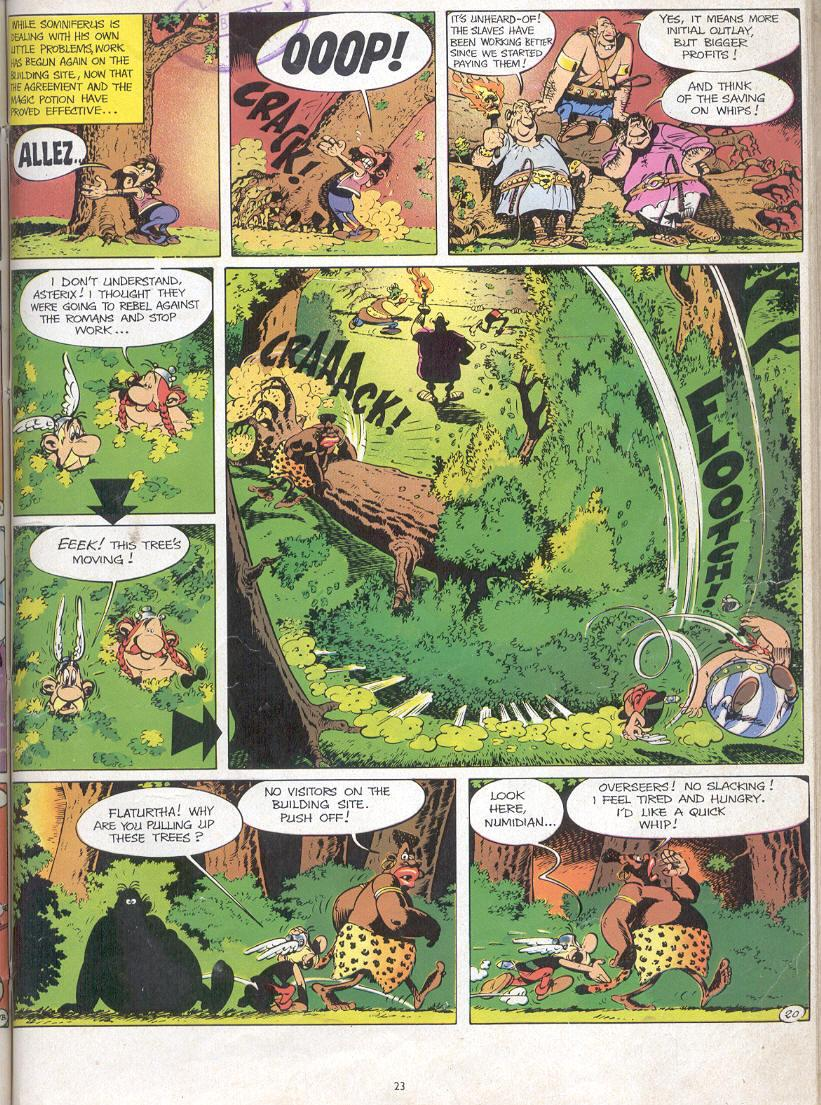 Read online Asterix comic -  Issue #17 - 21