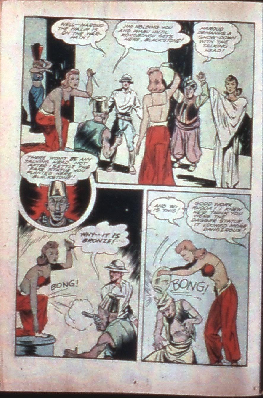 Read online Super-Magician Comics comic -  Issue #7 - 26
