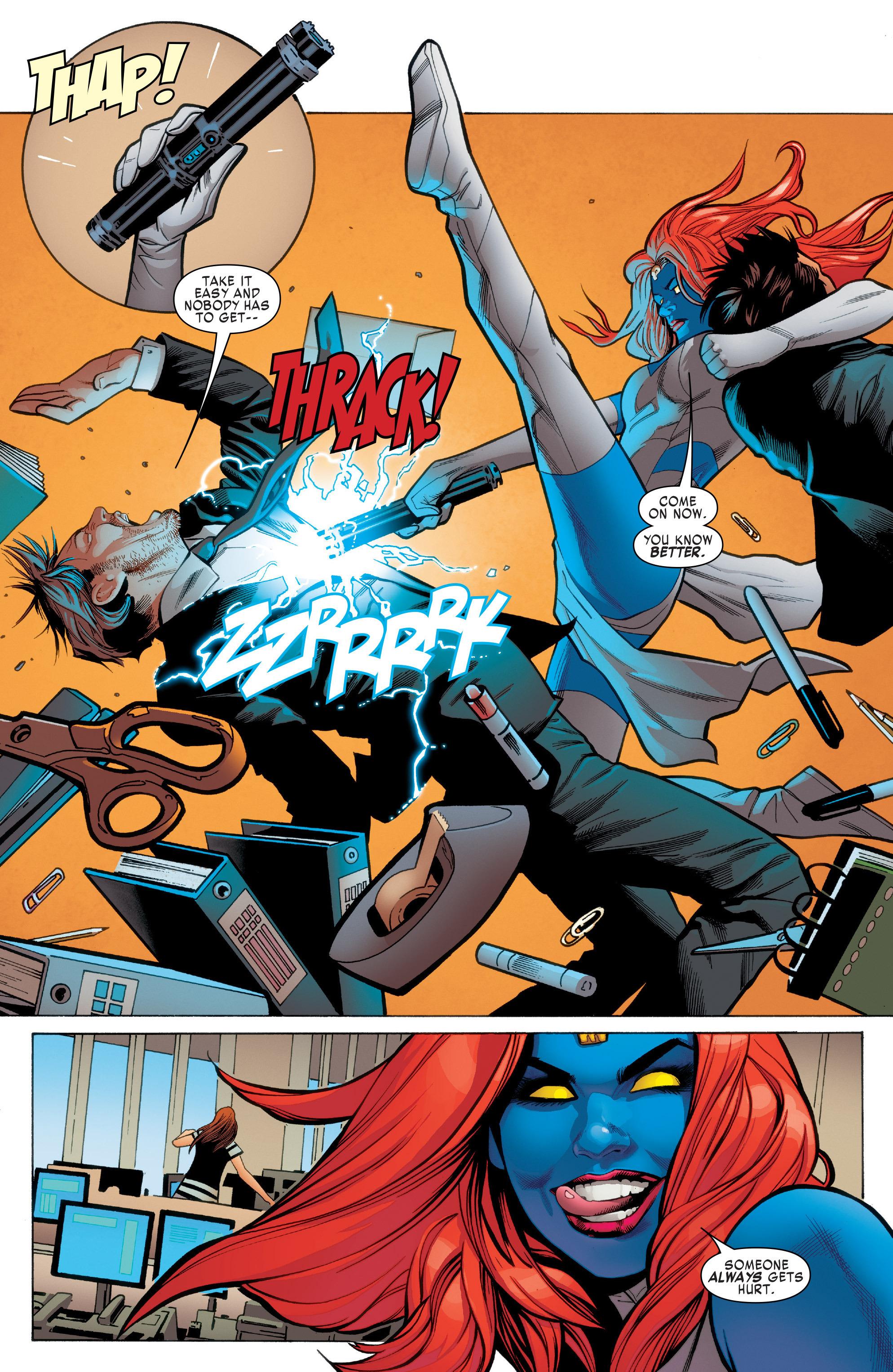 Read online Uncanny X-Men (2016) comic -  Issue #2 - 5