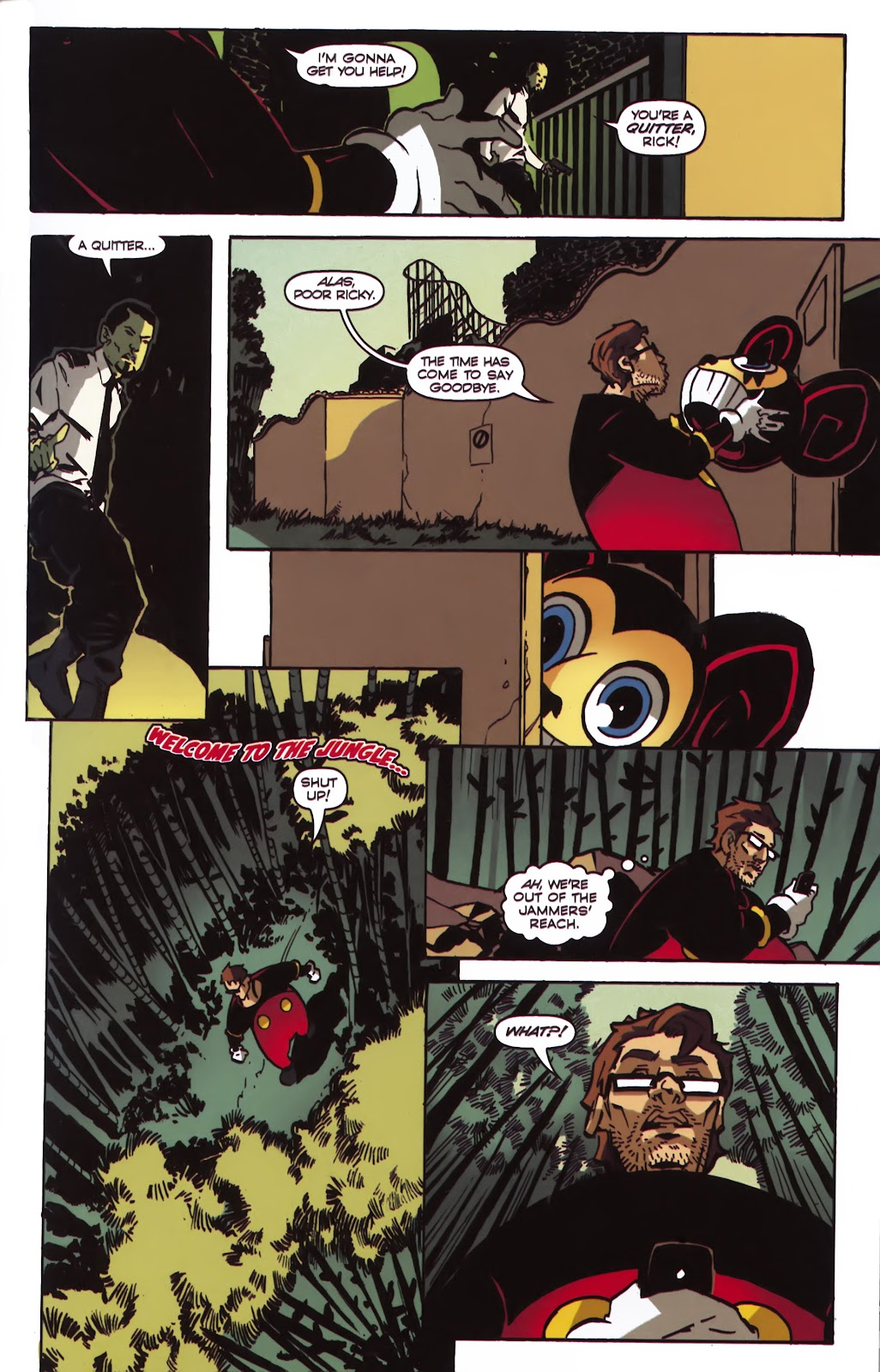 Read online Ricky Rouse Has A Gun comic -  Issue # TPB (Part 1) - 86