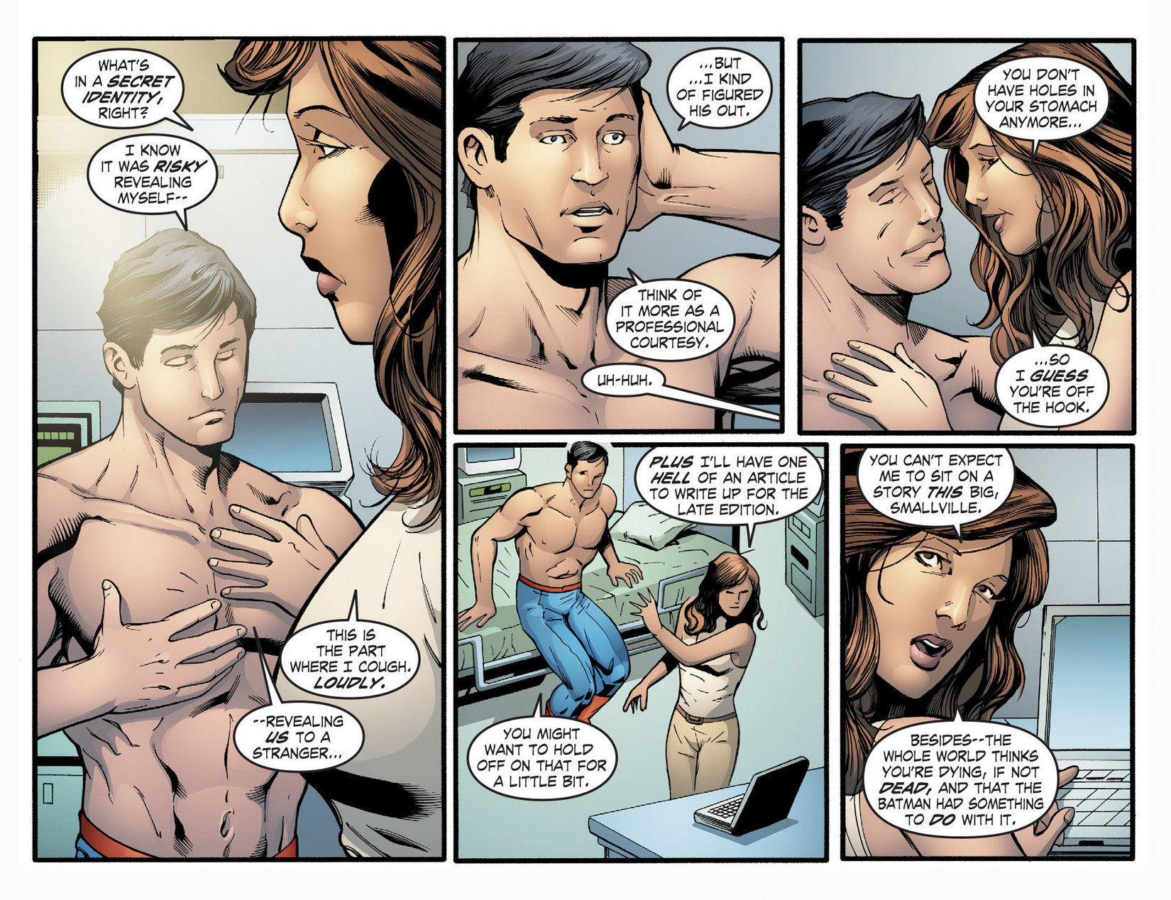 Read online Smallville: Season 11 comic -  Issue #22 - 8