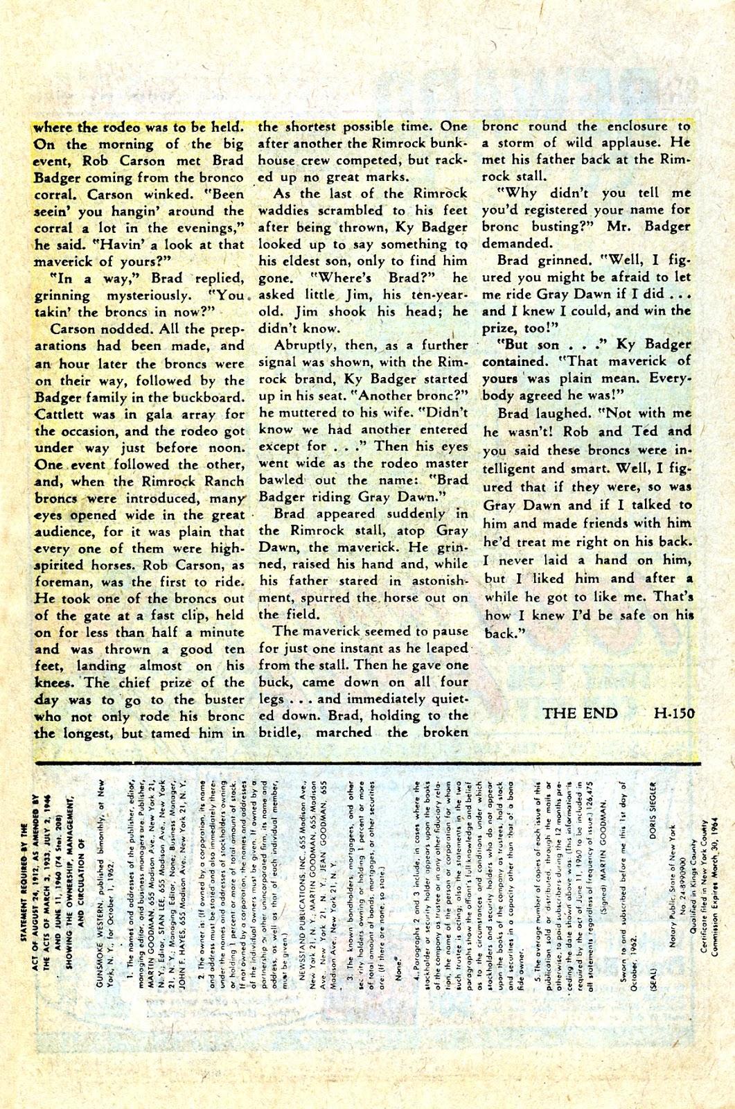 Gunsmoke Western issue 75 - Page 26