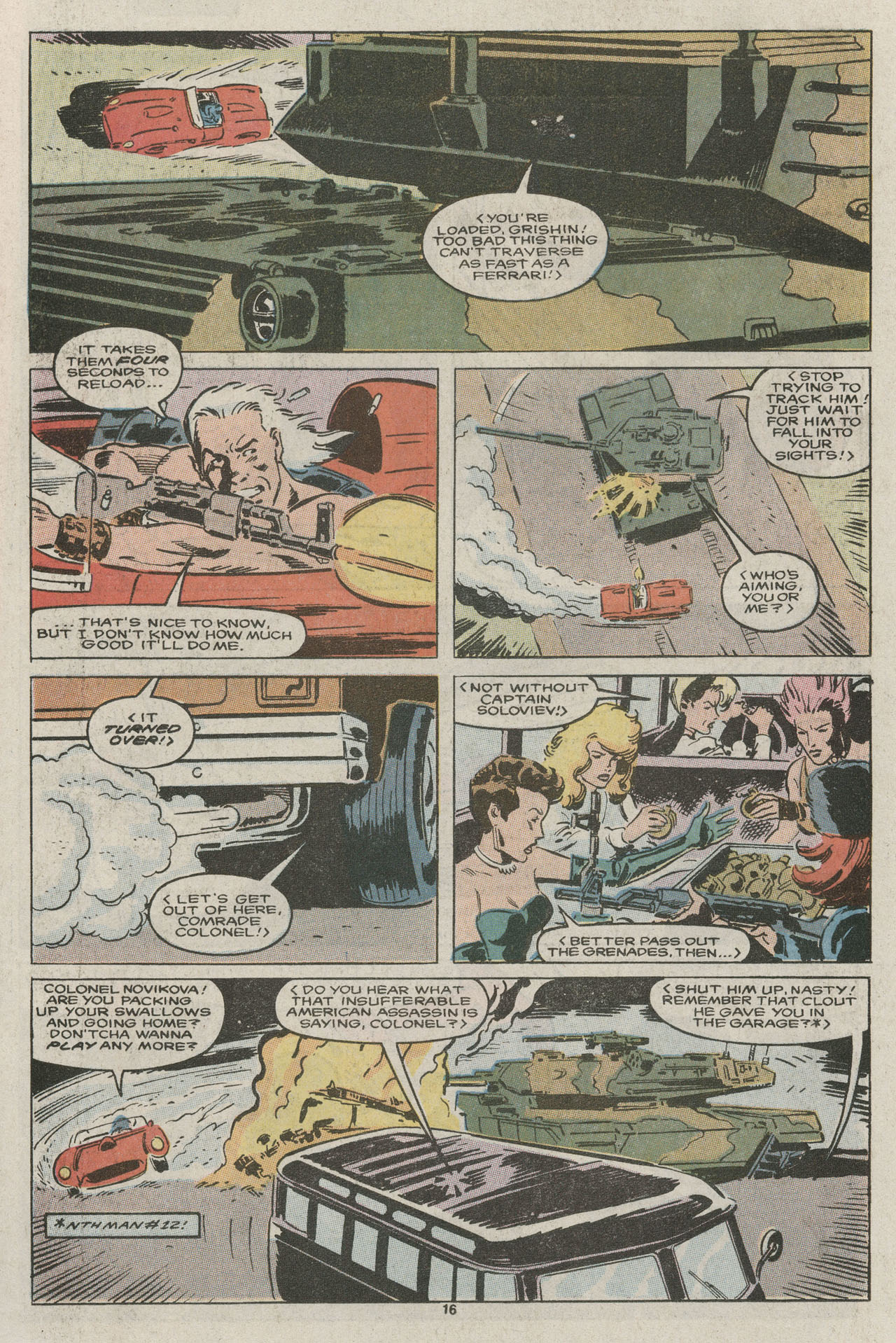 Read online Nth Man the Ultimate Ninja comic -  Issue #14 - 17