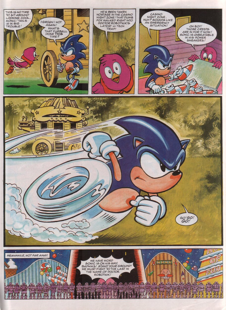 Read online Sonic the Comic comic -  Issue #73 - 5