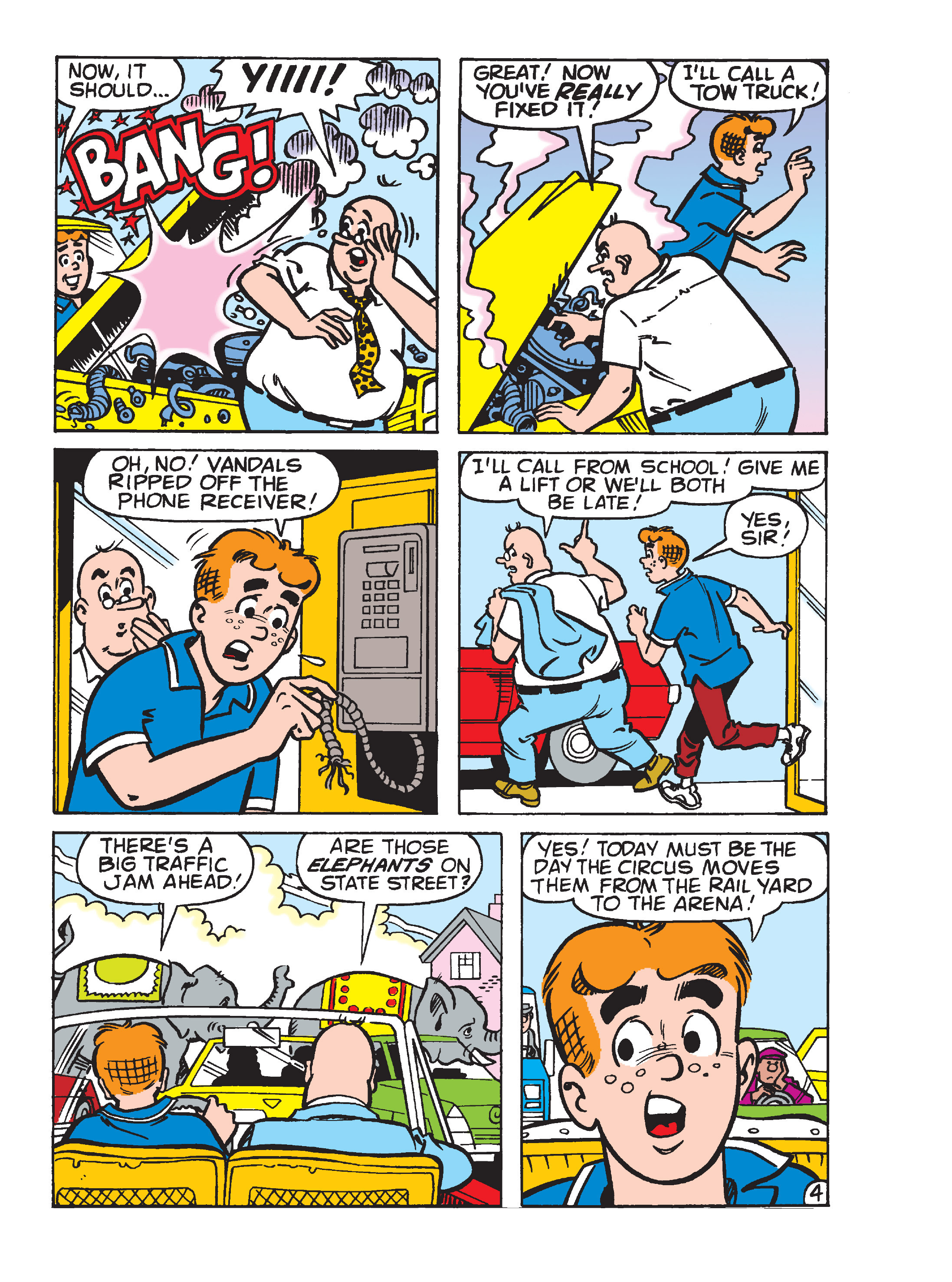 Read online Archie's Funhouse Double Digest comic -  Issue #15 - 95