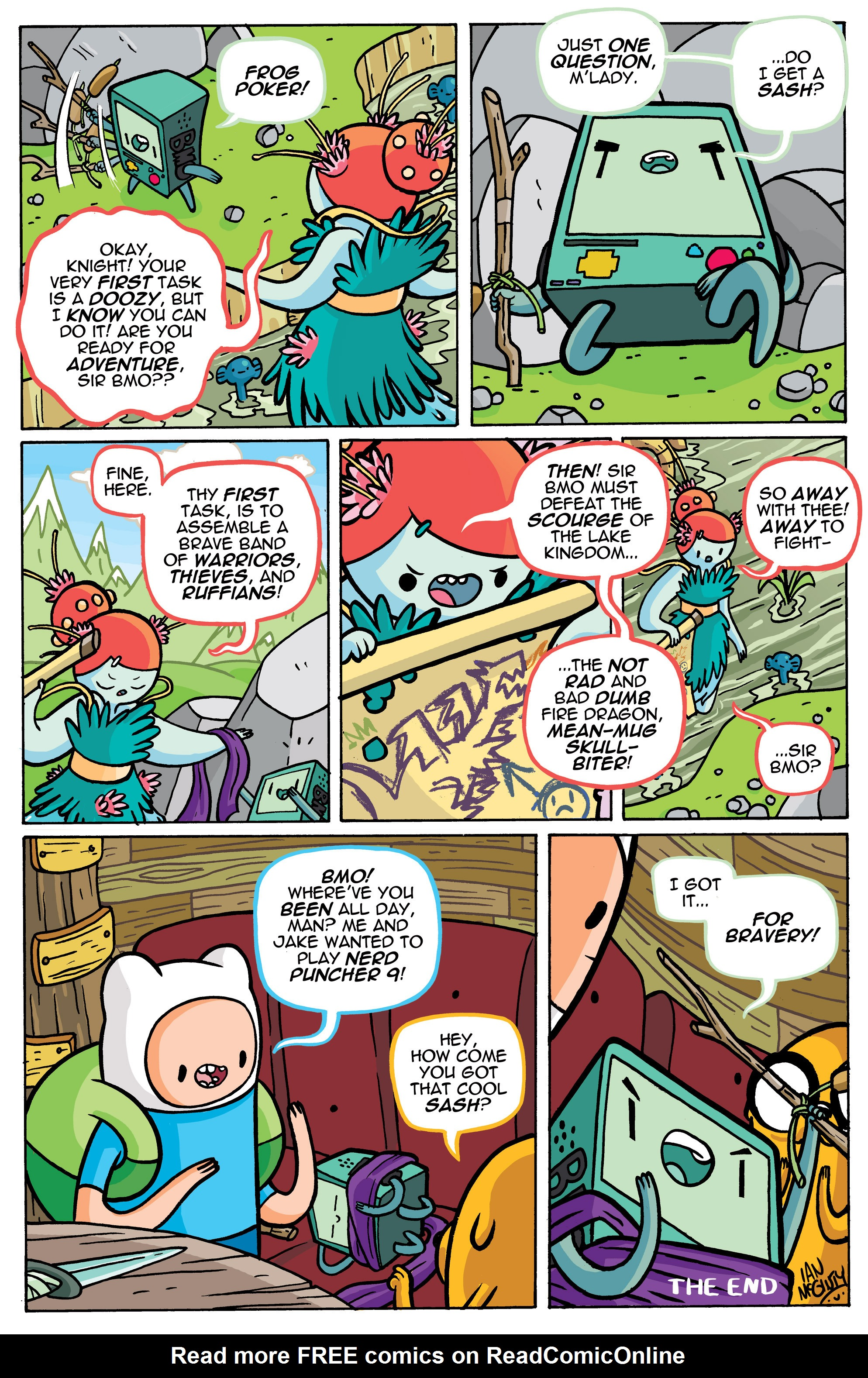 Read online Adventure Time comic -  Issue #42 - 25