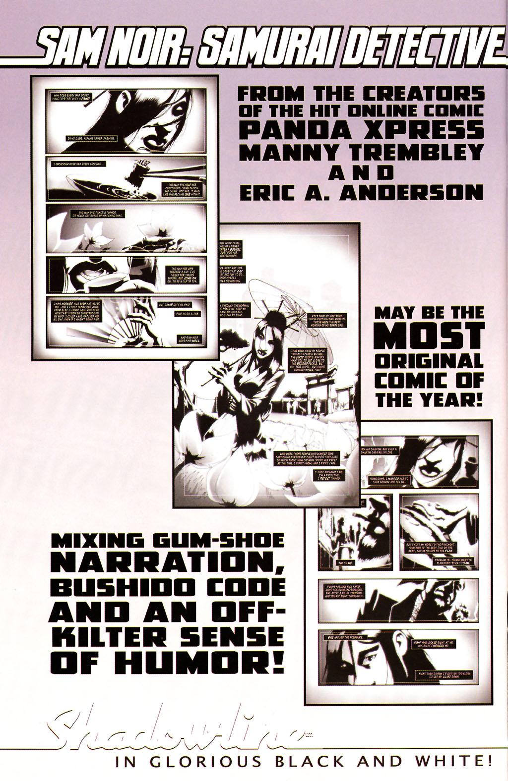Read online ShadowHawk (2005) comic -  Issue #14 - 25