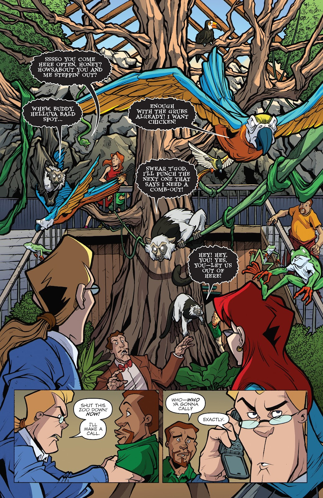 Read online Ghostbusters 35th Anniversary: Extreme comic -  Issue # Full - 7