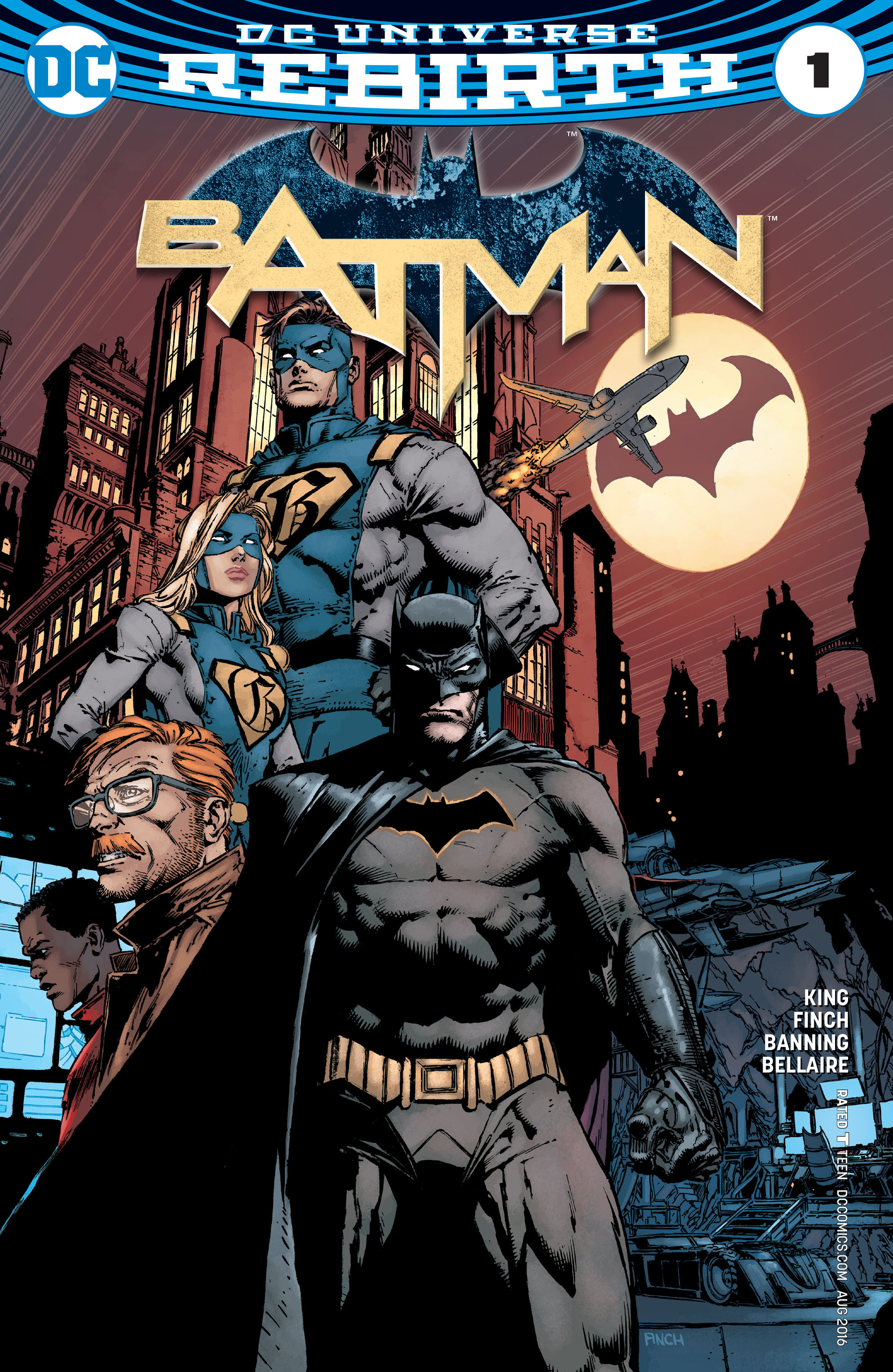 Batman (2016) 1 Page 1