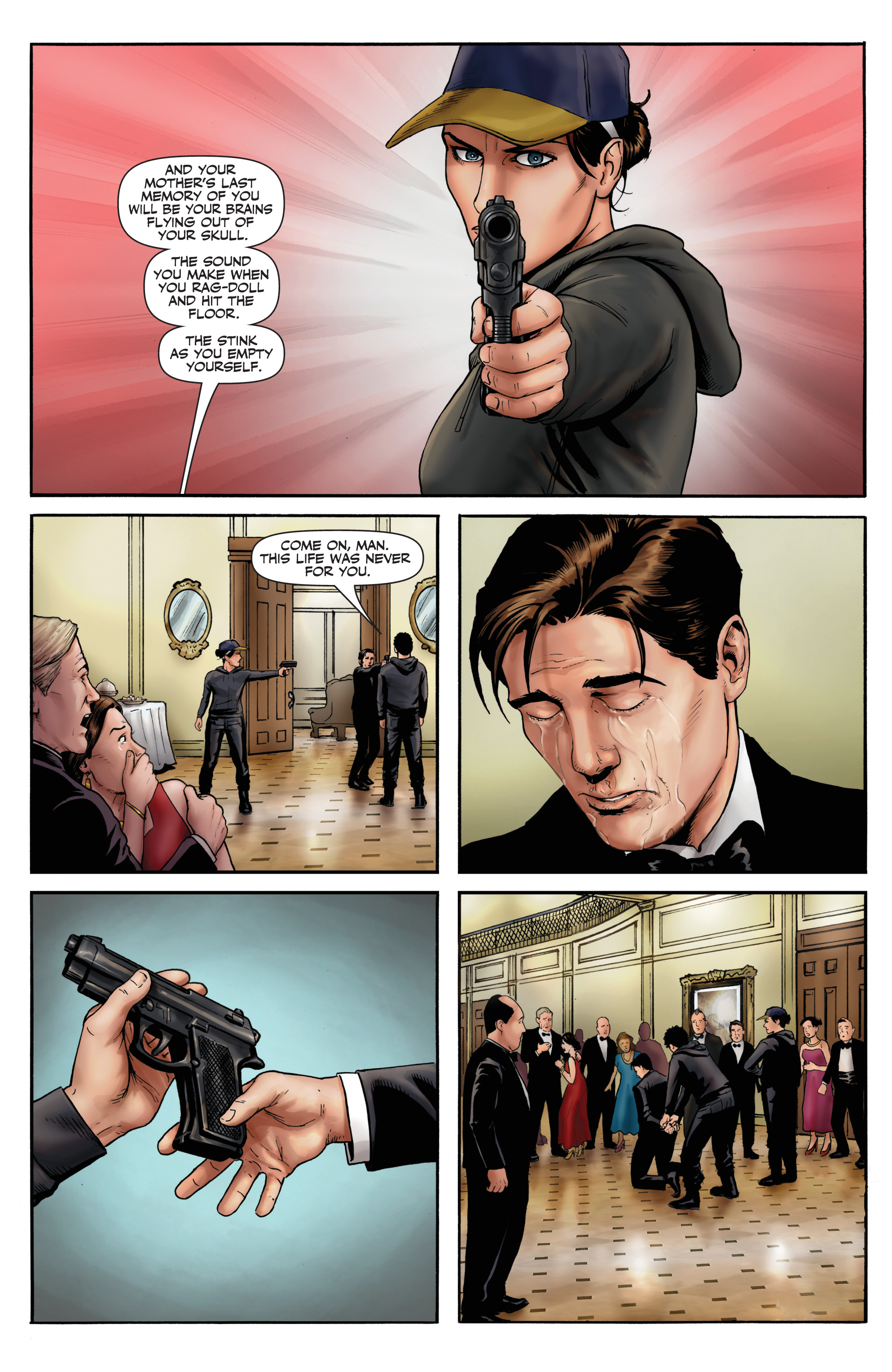 Read online Red Team: Double Tap, Center Mass comic -  Issue #9 - 15