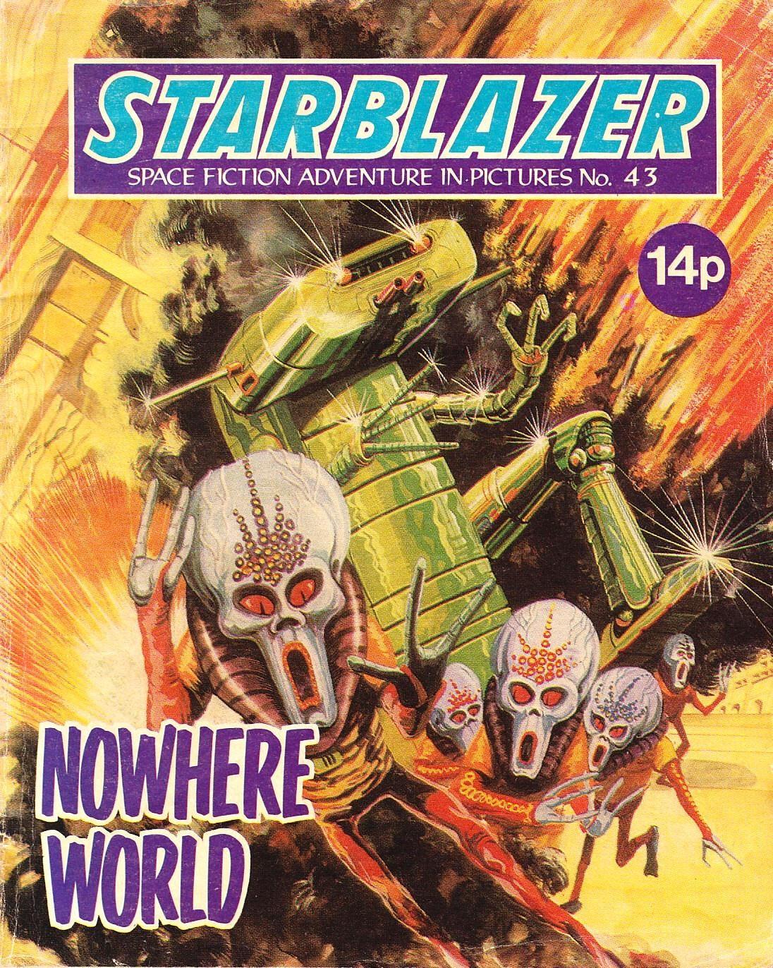 Starblazer issue 43 - Page 1
