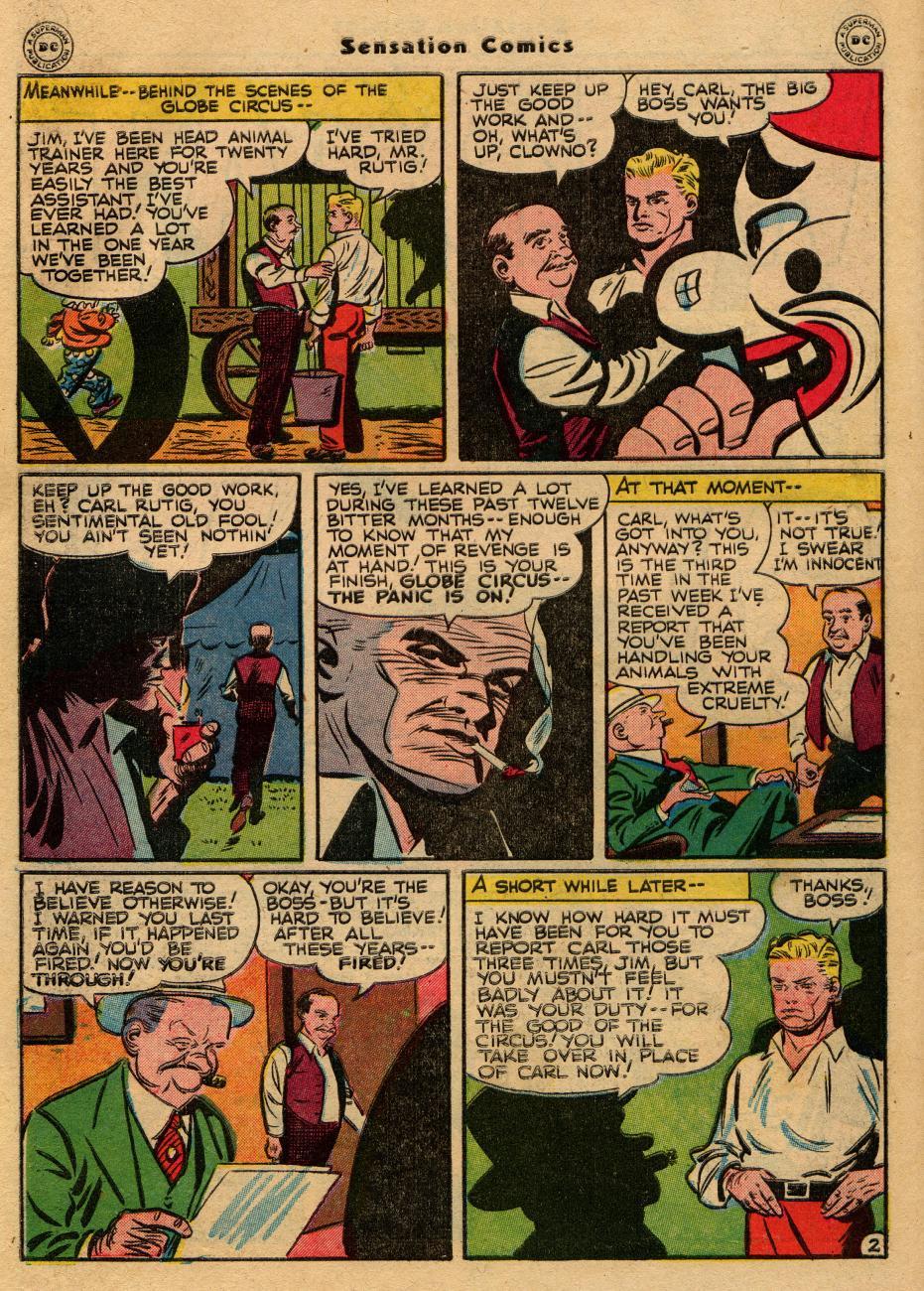 Read online Sensation (Mystery) Comics comic -  Issue #61 - 42