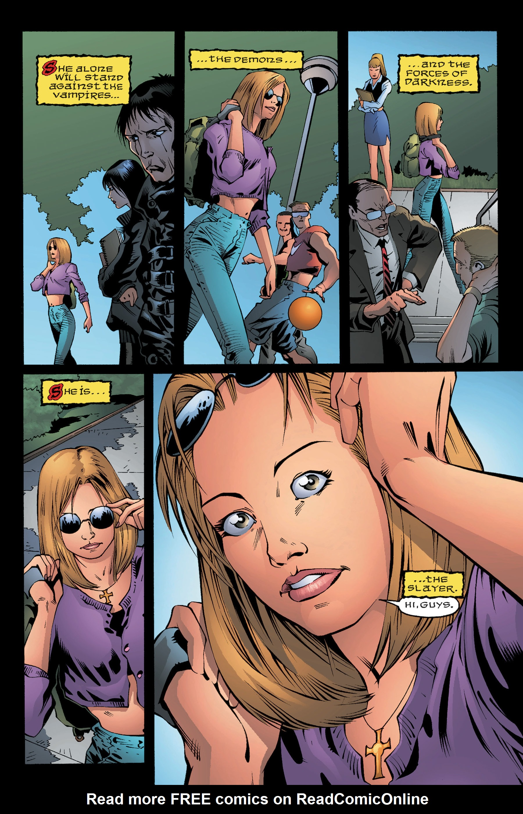 Read online Buffy the Vampire Slayer: Omnibus comic -  Issue # TPB 3 - 11